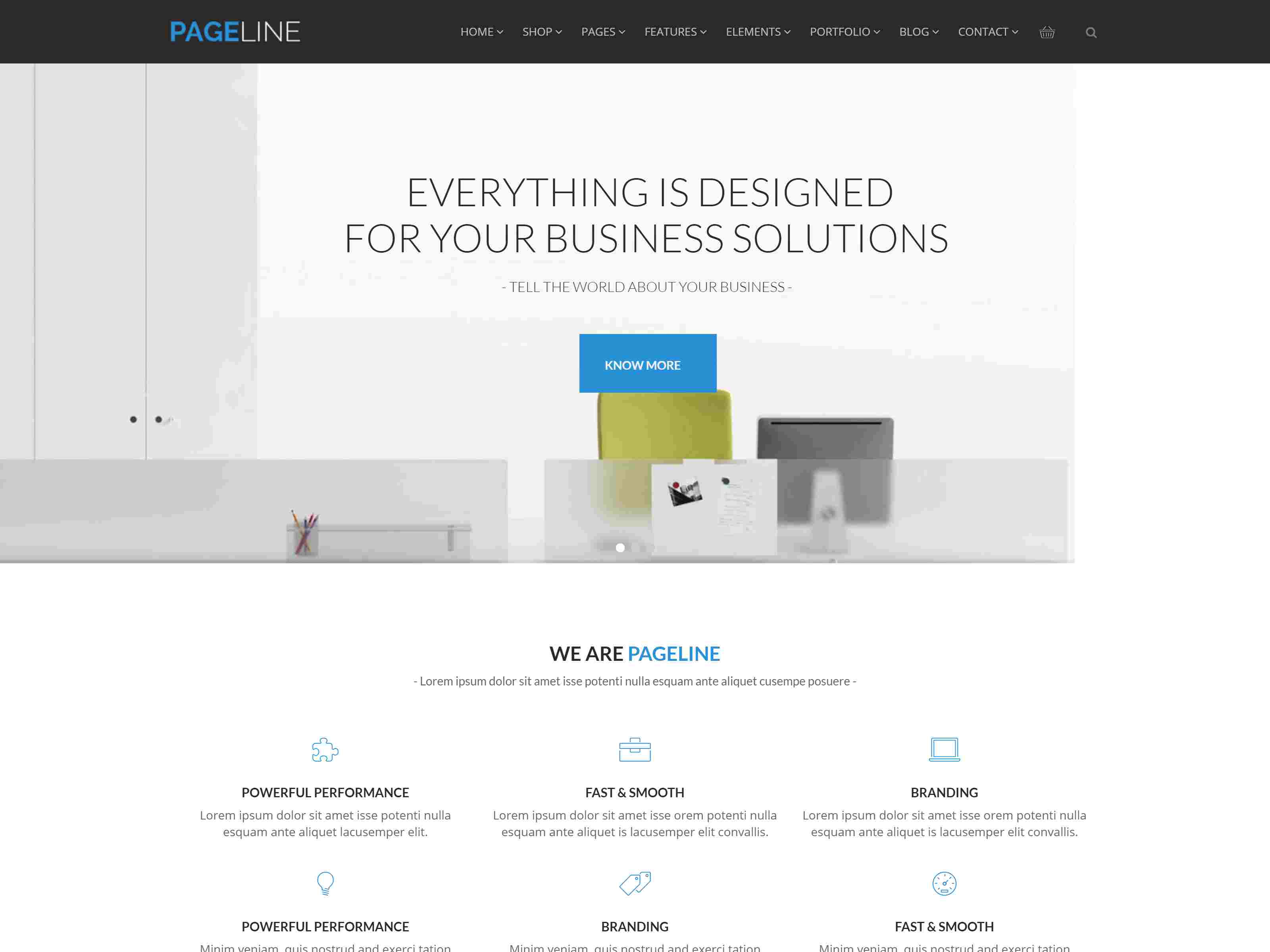 PageLine - Bootstrap Based Multi-Purpose HTML5 Drupal 8.8 Theme