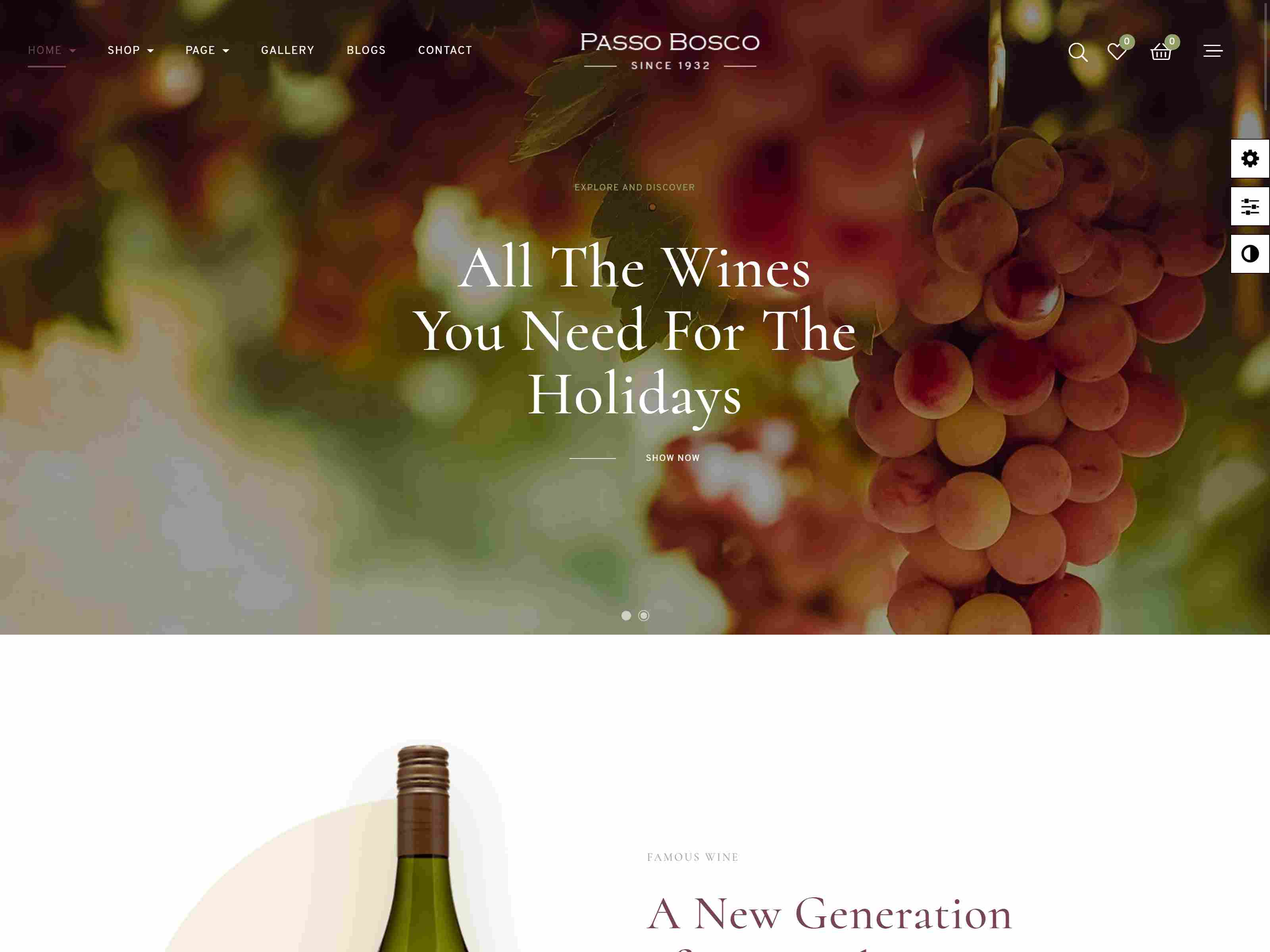 Best Premium Vineyard PrestaShop Themes