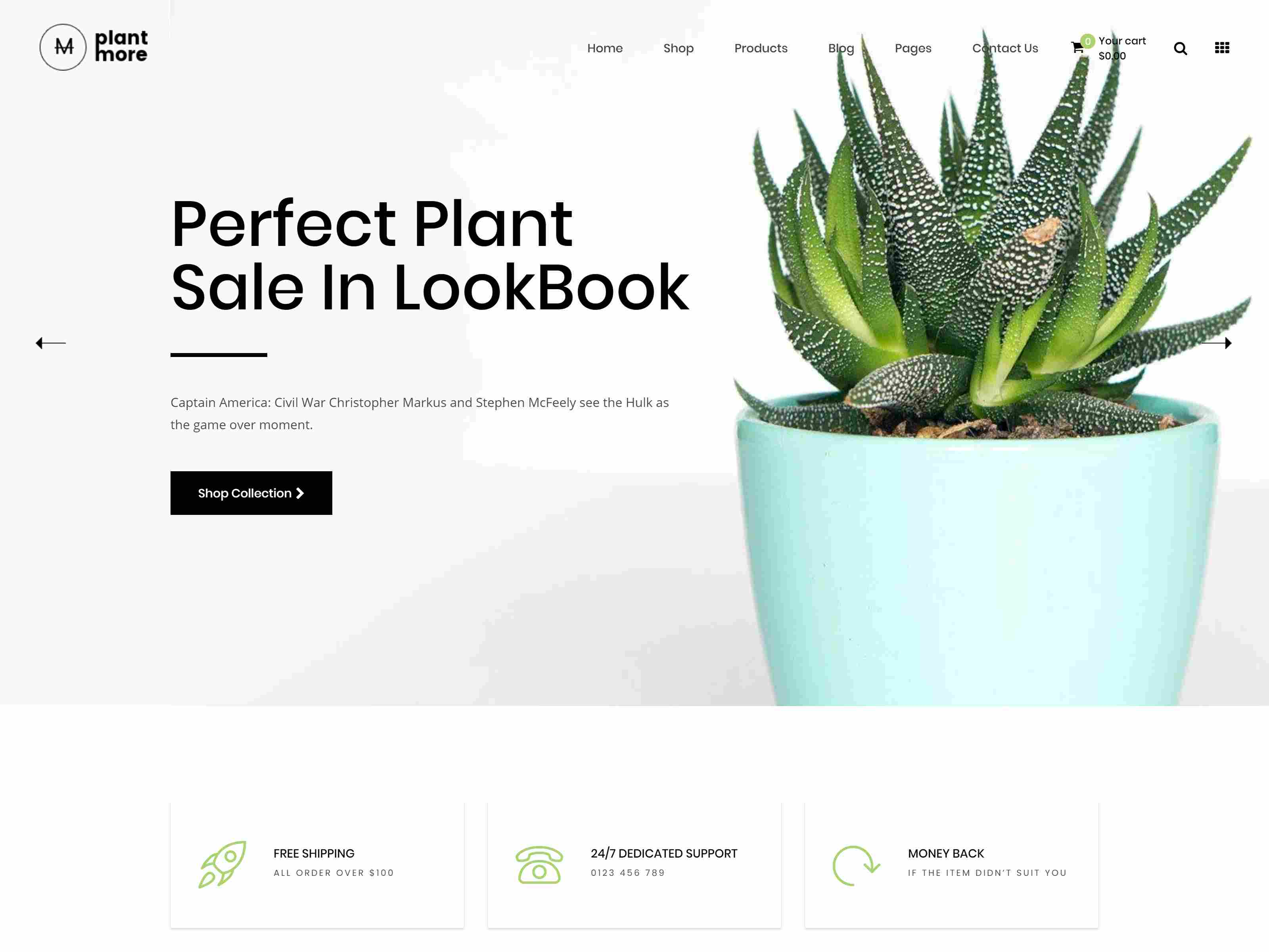 Plantmore - Flower Nursery Shopify Theme