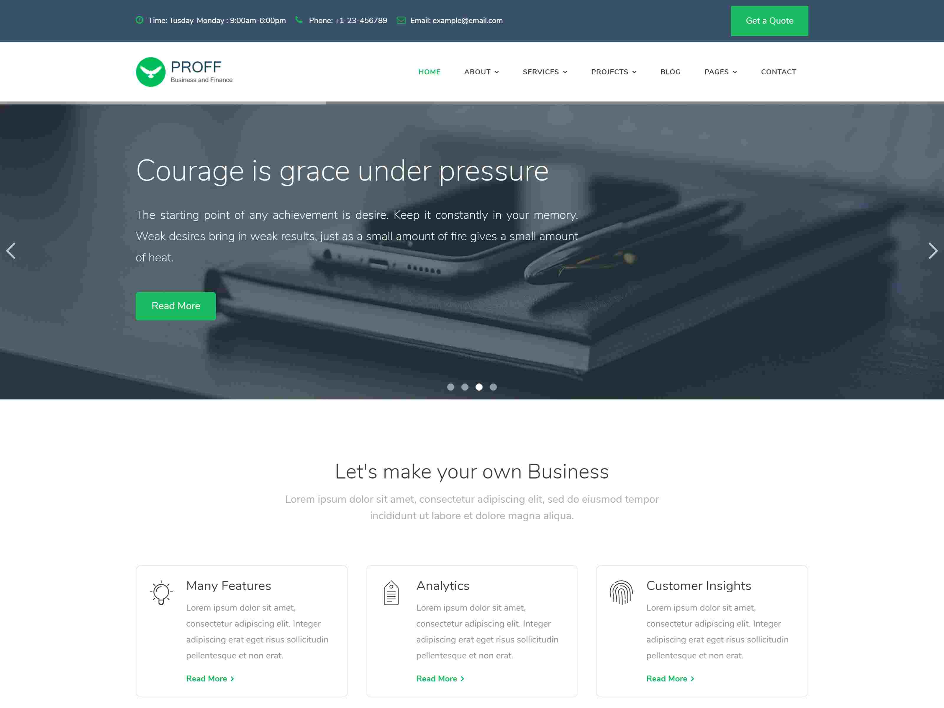 Best Premium Consulting Firms Joomla Themes