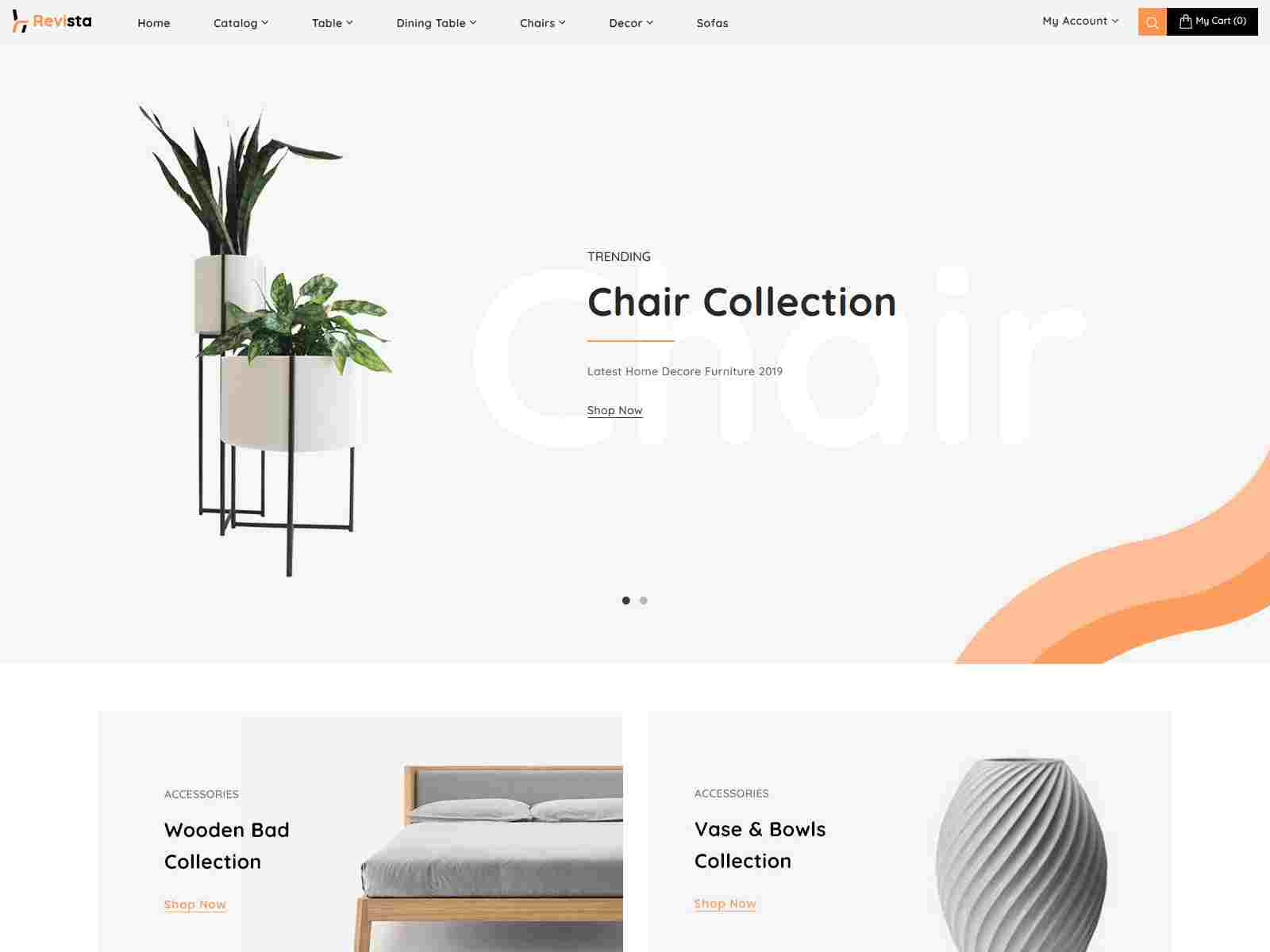 Revista - Best Shopify Furniture Responsive Theme