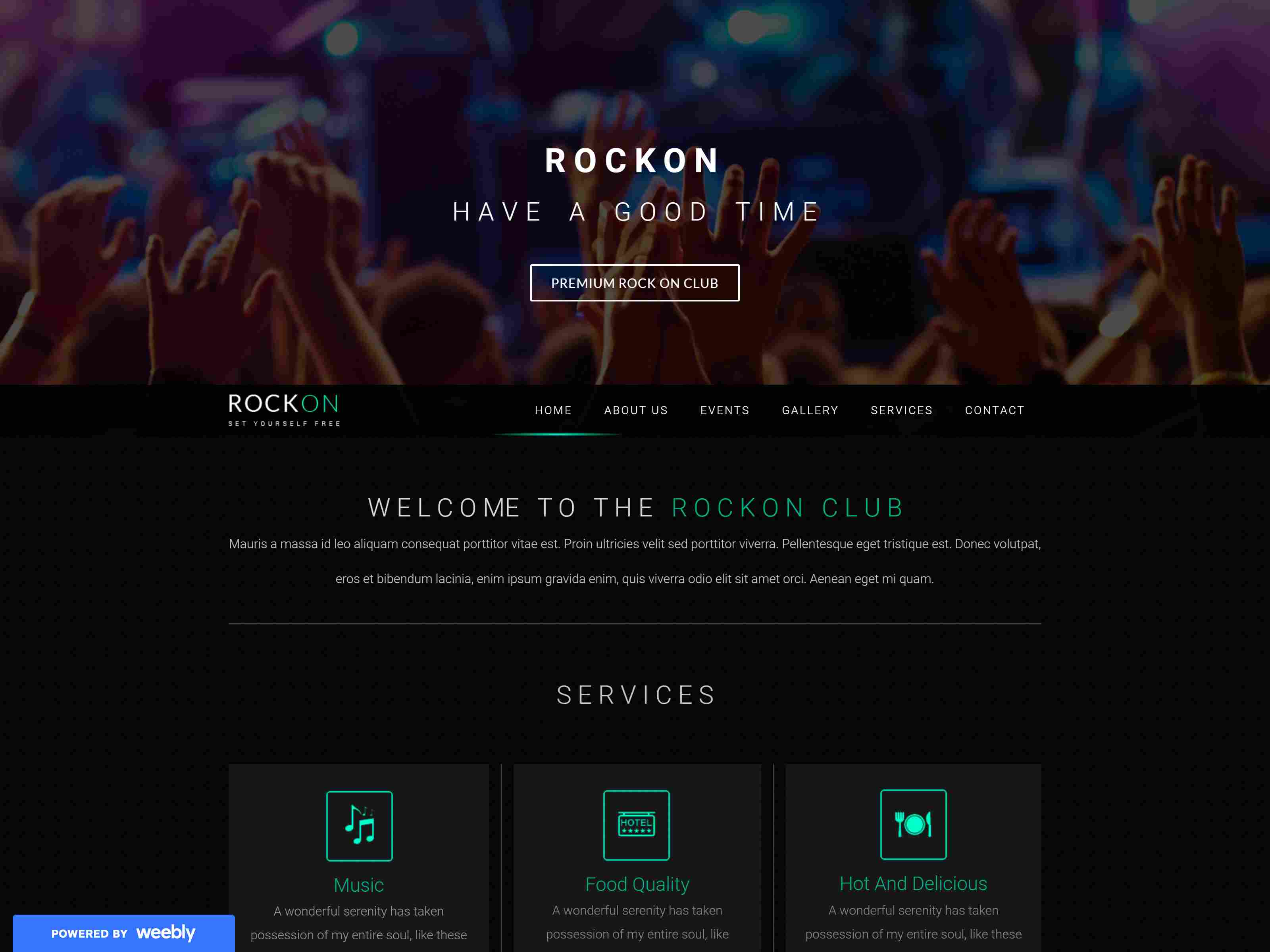 Best Premium Music Weebly Themes