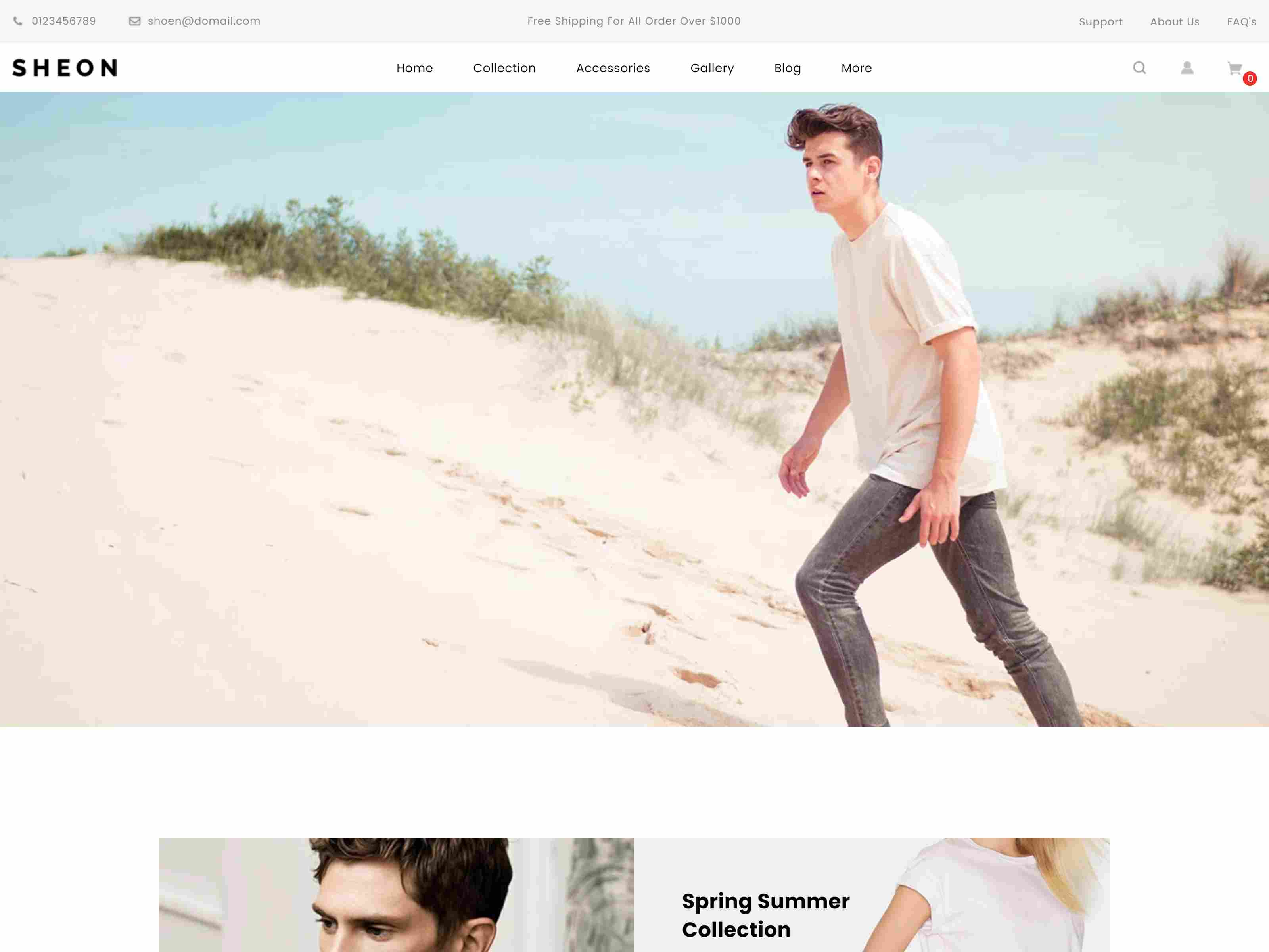 Sheon - Sectioned Multipurpose Shopify Theme