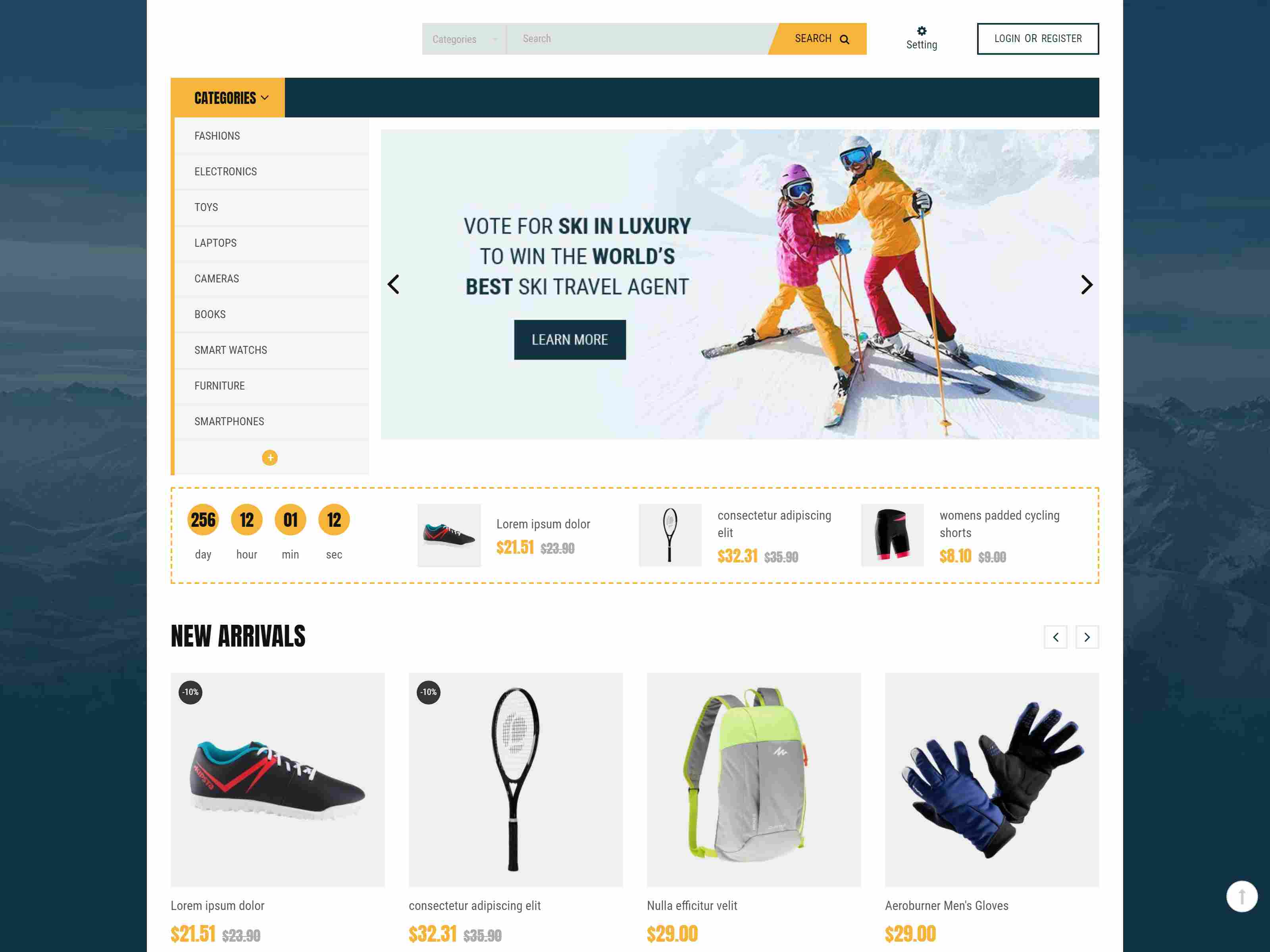 Best Premium Surfing PrestaShop Themes