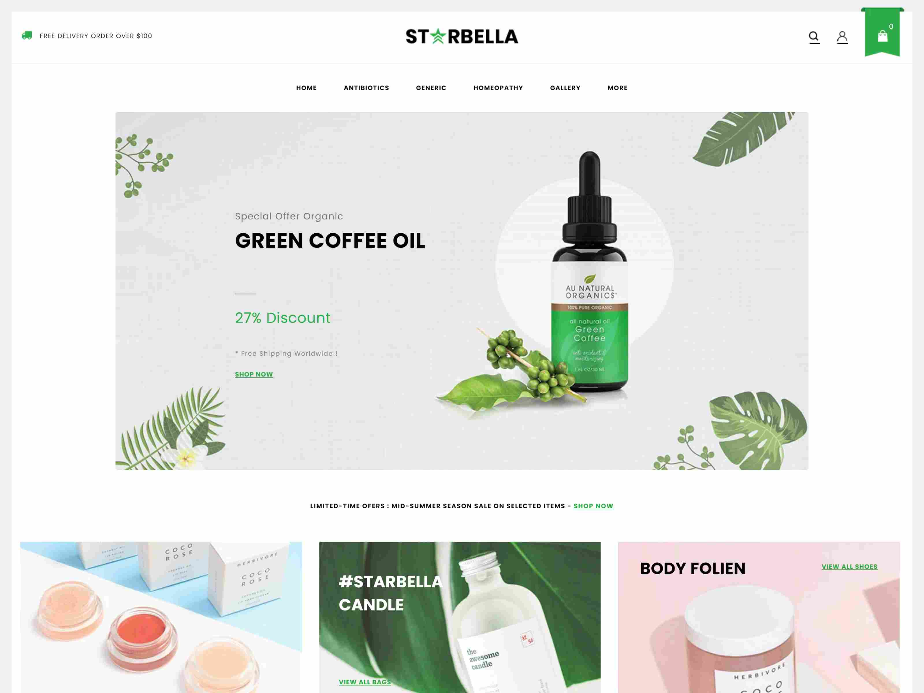 StarBella - Sectioned Multipurpose Shopify Theme