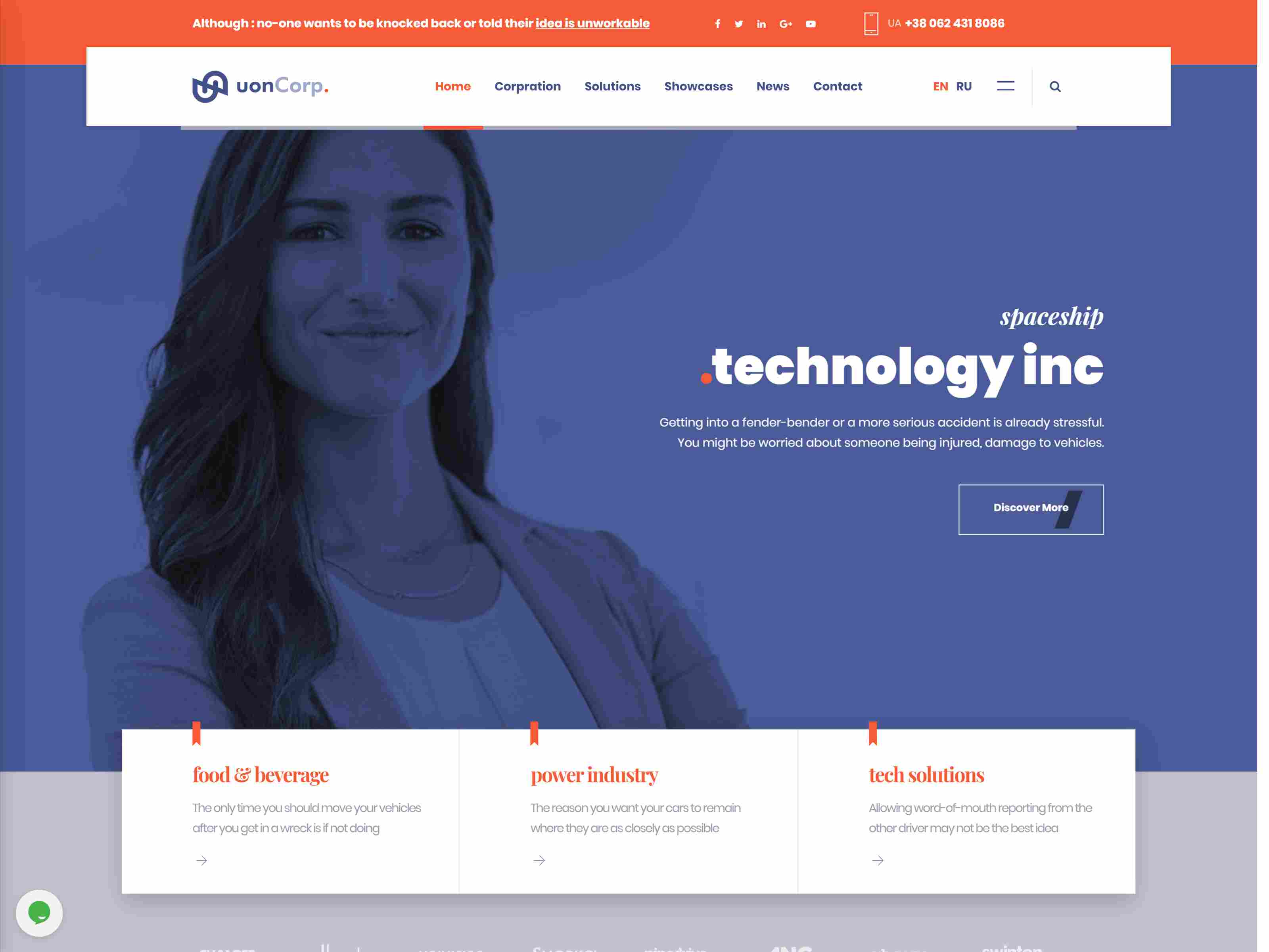 Uon Corp | Business Solutions Consulting Companies Joomla Template