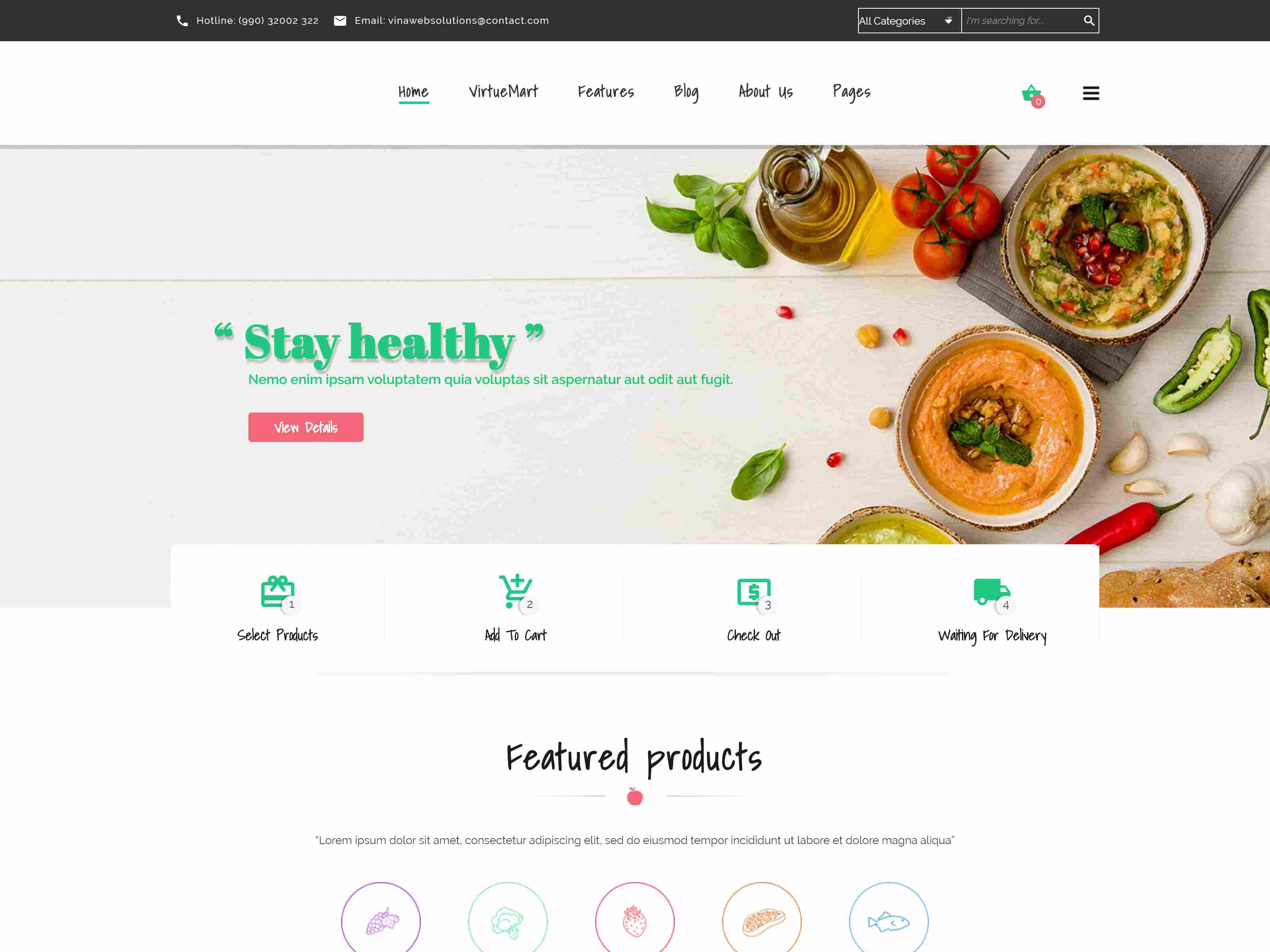 Best Premium Vegetable Joomla Themes