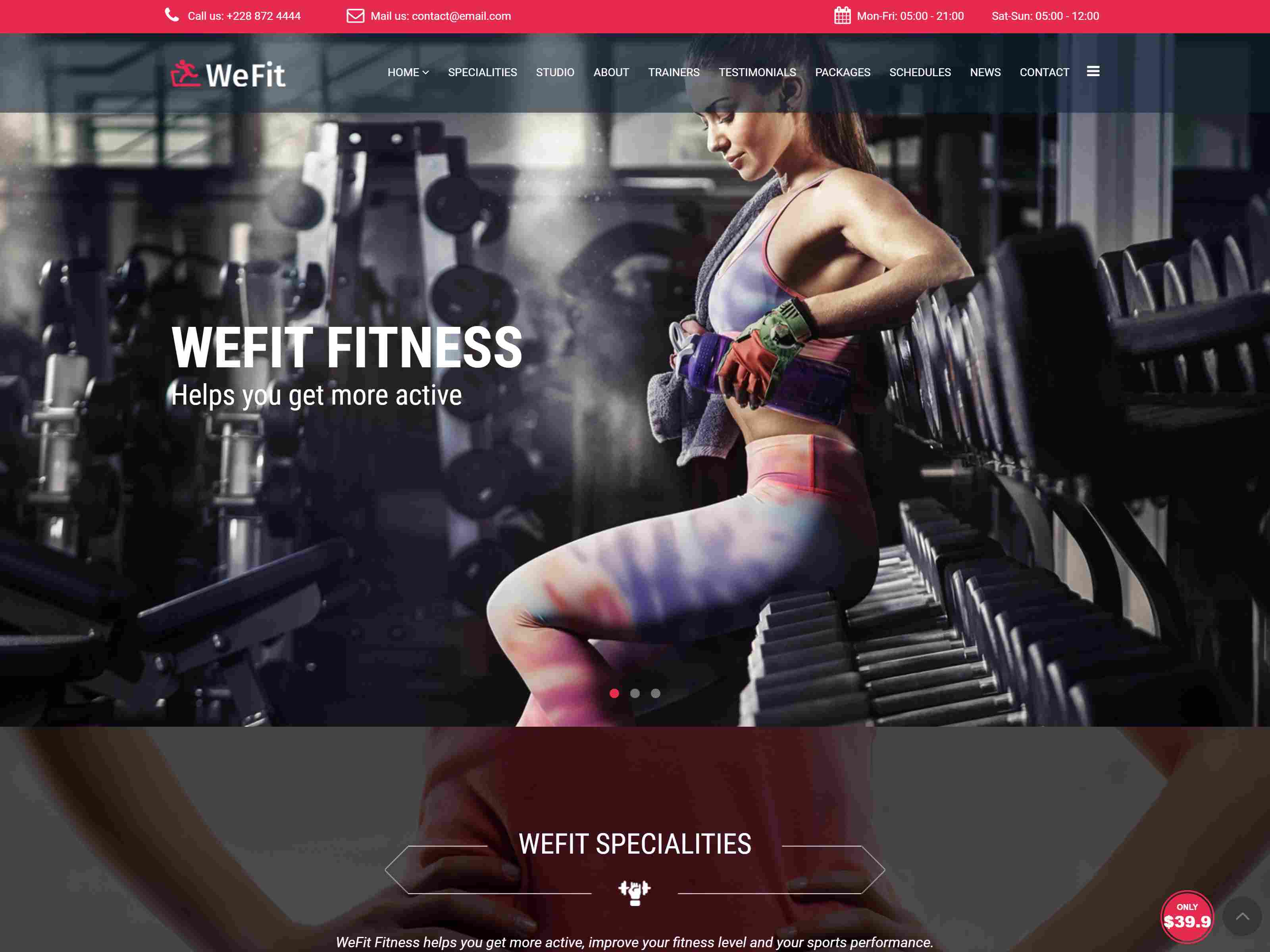 Best Premium Yoga Joomla Themes