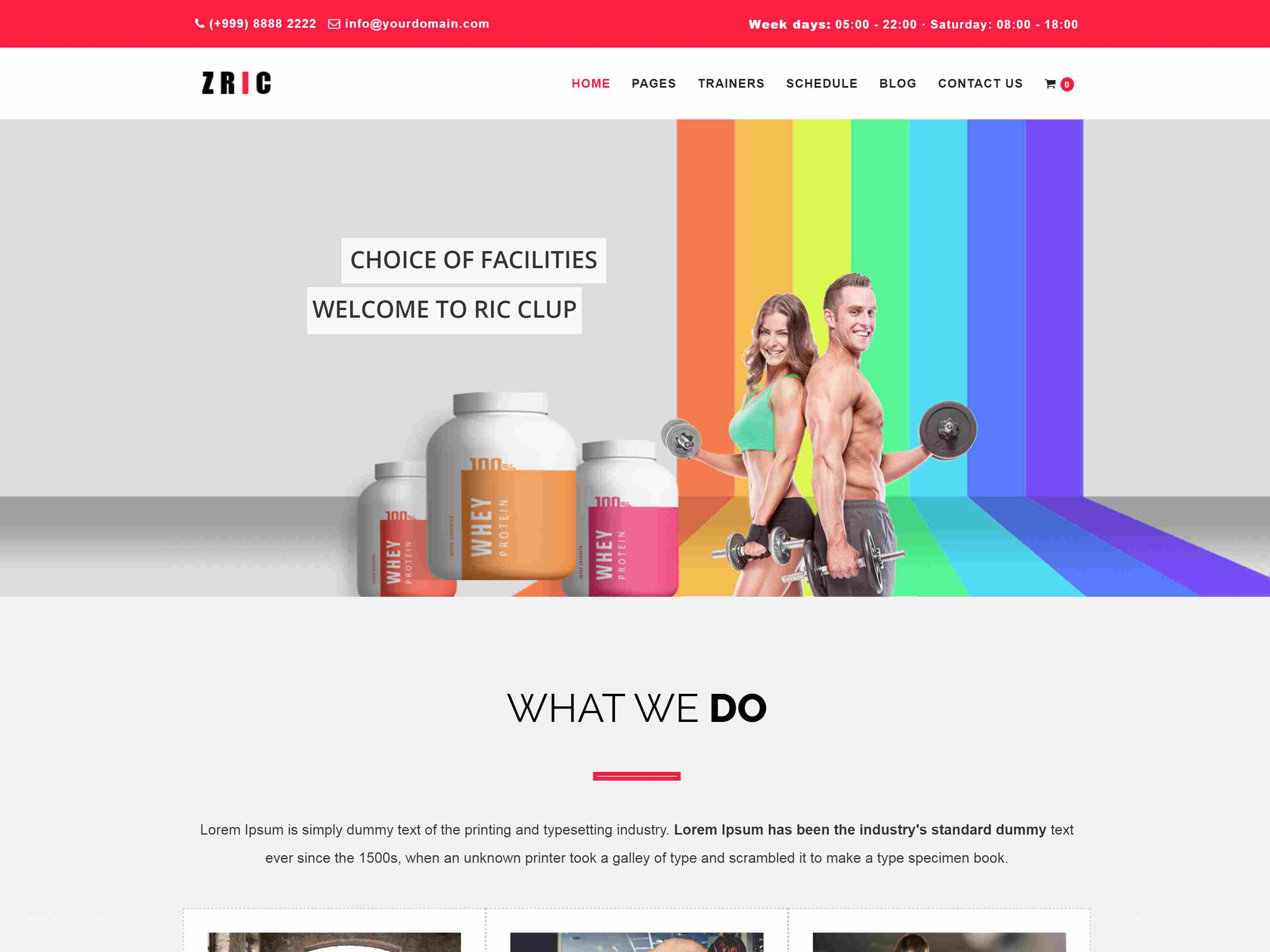 Best Premium Gym Drupal Themes