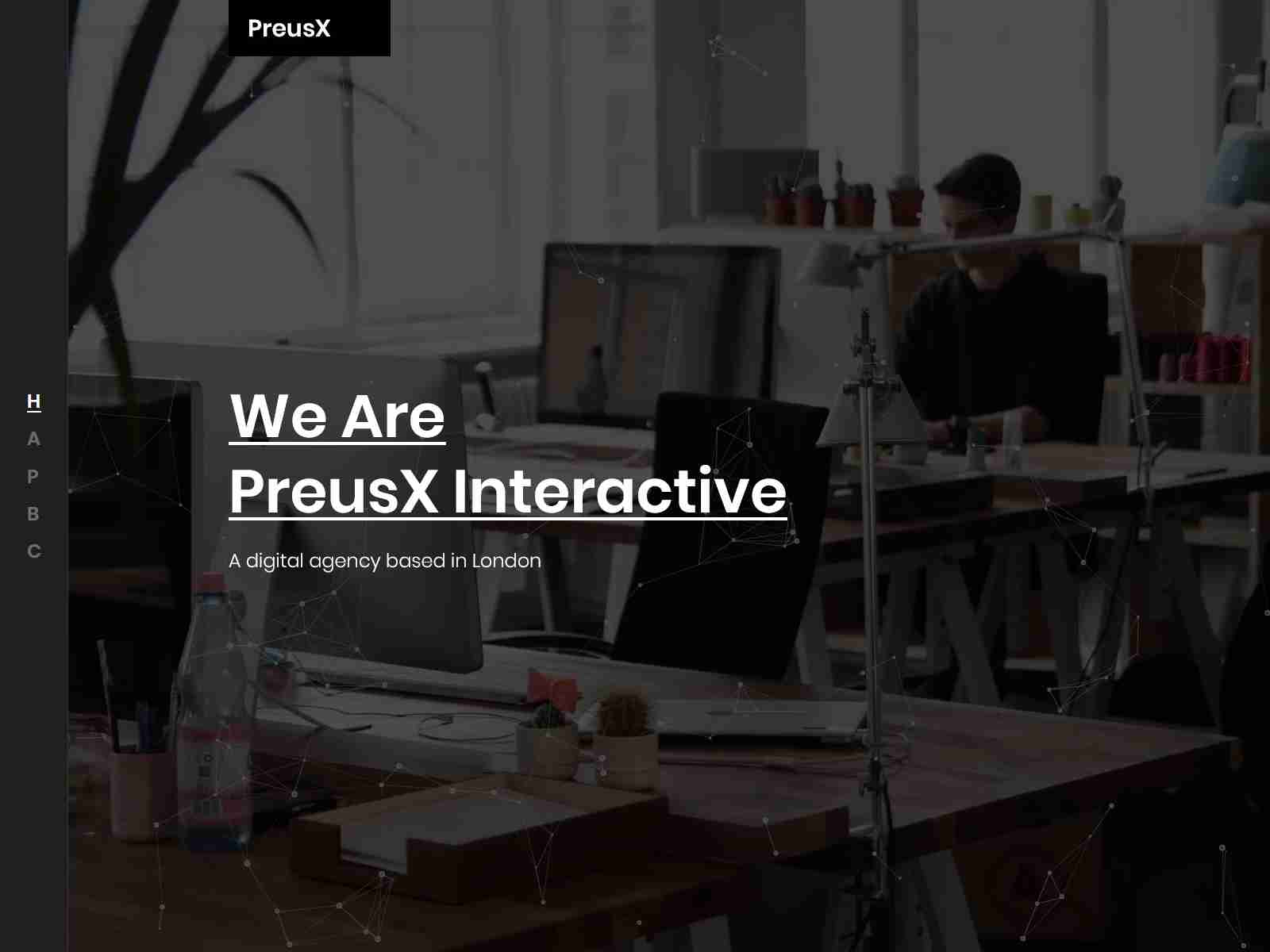 PreusX - Digital Agency And Portfolio WordPress Theme