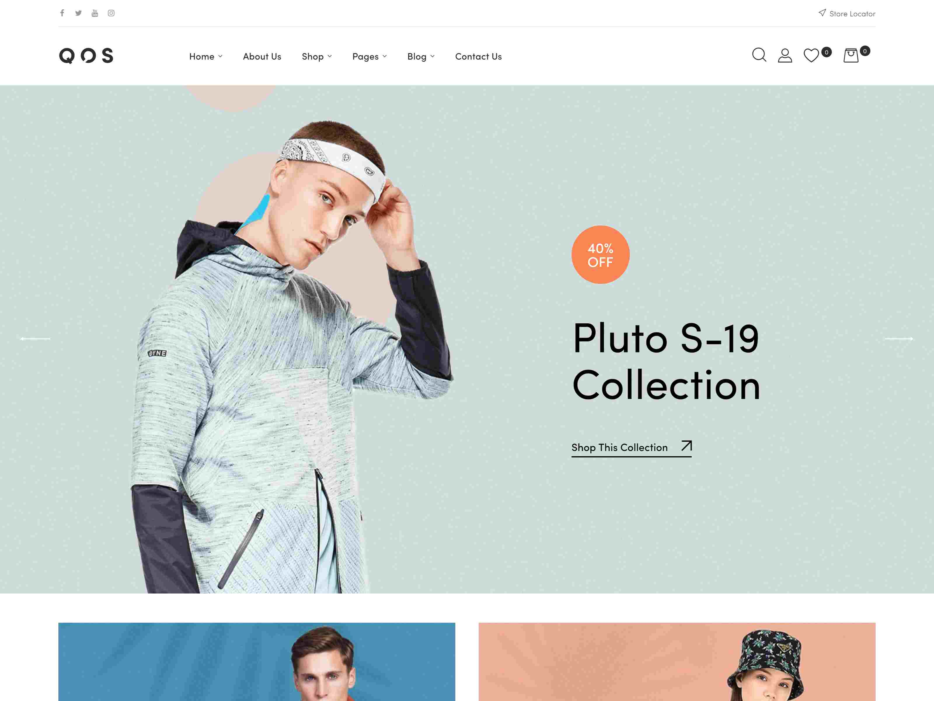 QOS - Fashion WooCommerce WordPress Theme