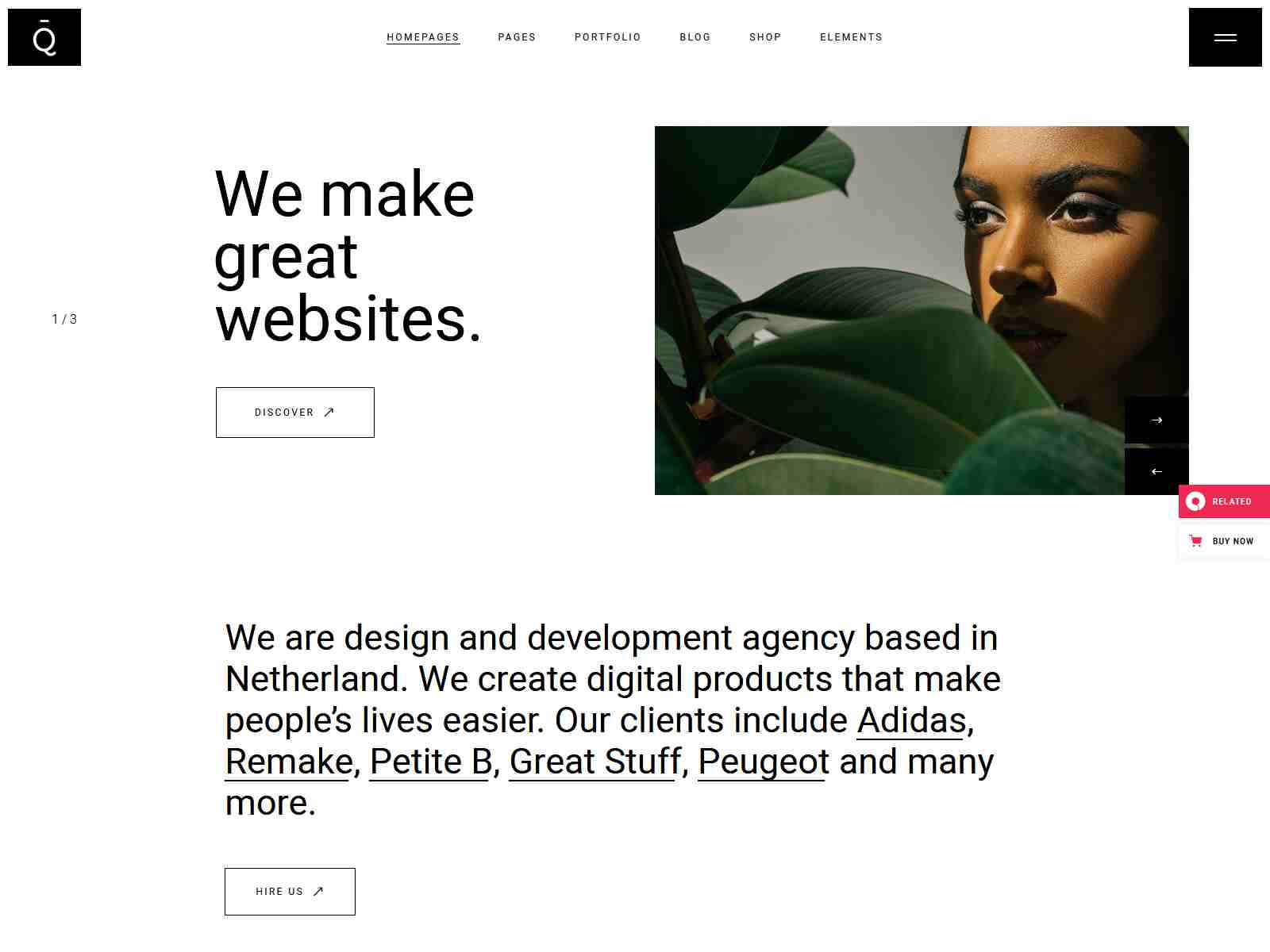 Best Premium Creative Agency WordPress Themes