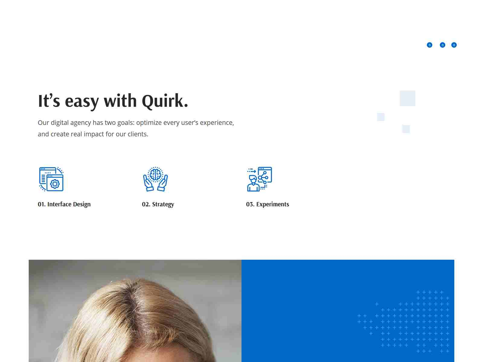 Quirk - Corporate Multipurpose Theme