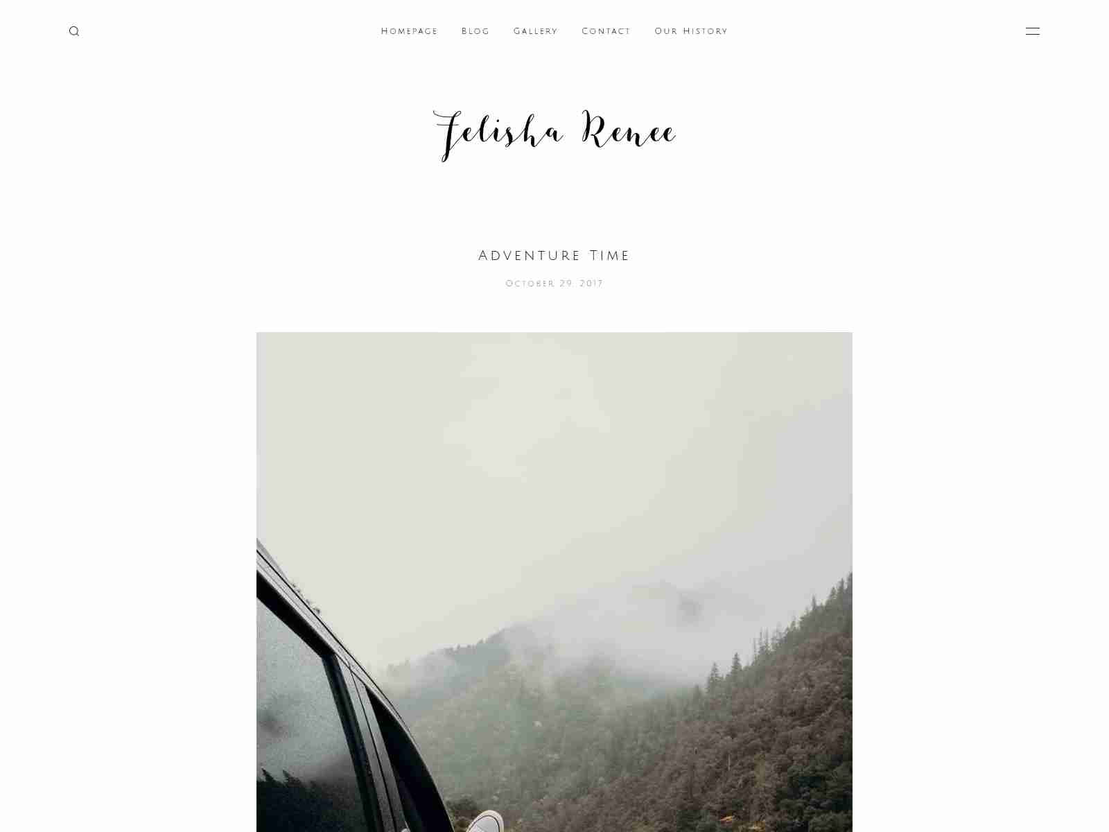 Renee: Portfolio Theme With Sideblog Enabled