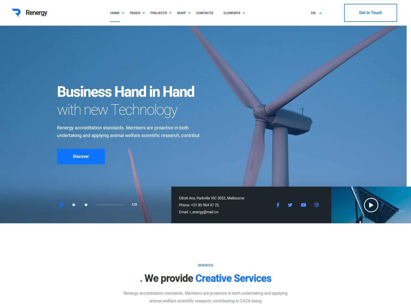 Best Premium Energy WordPress Themes