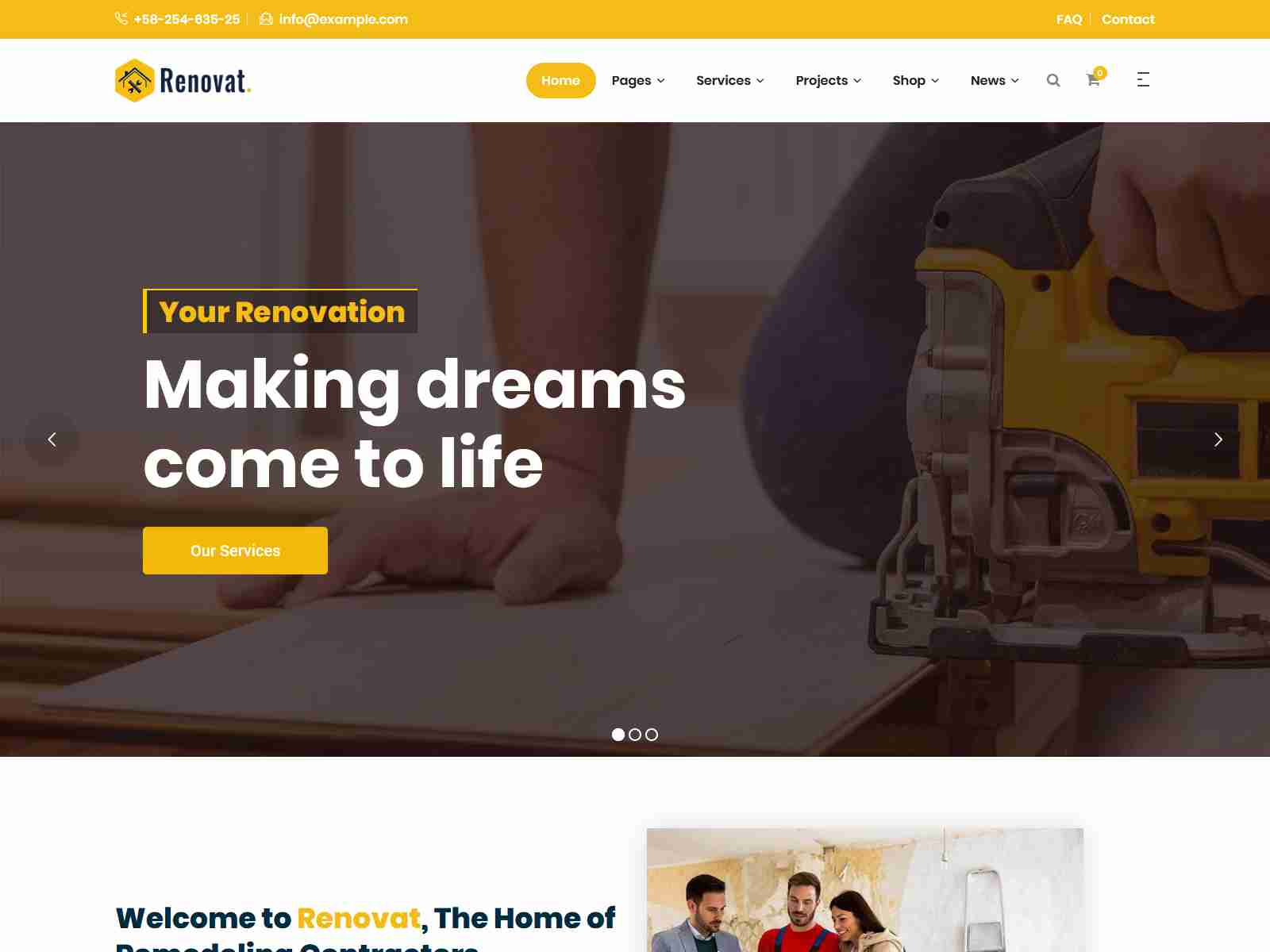 Best Premium Plumber WordPress Themes