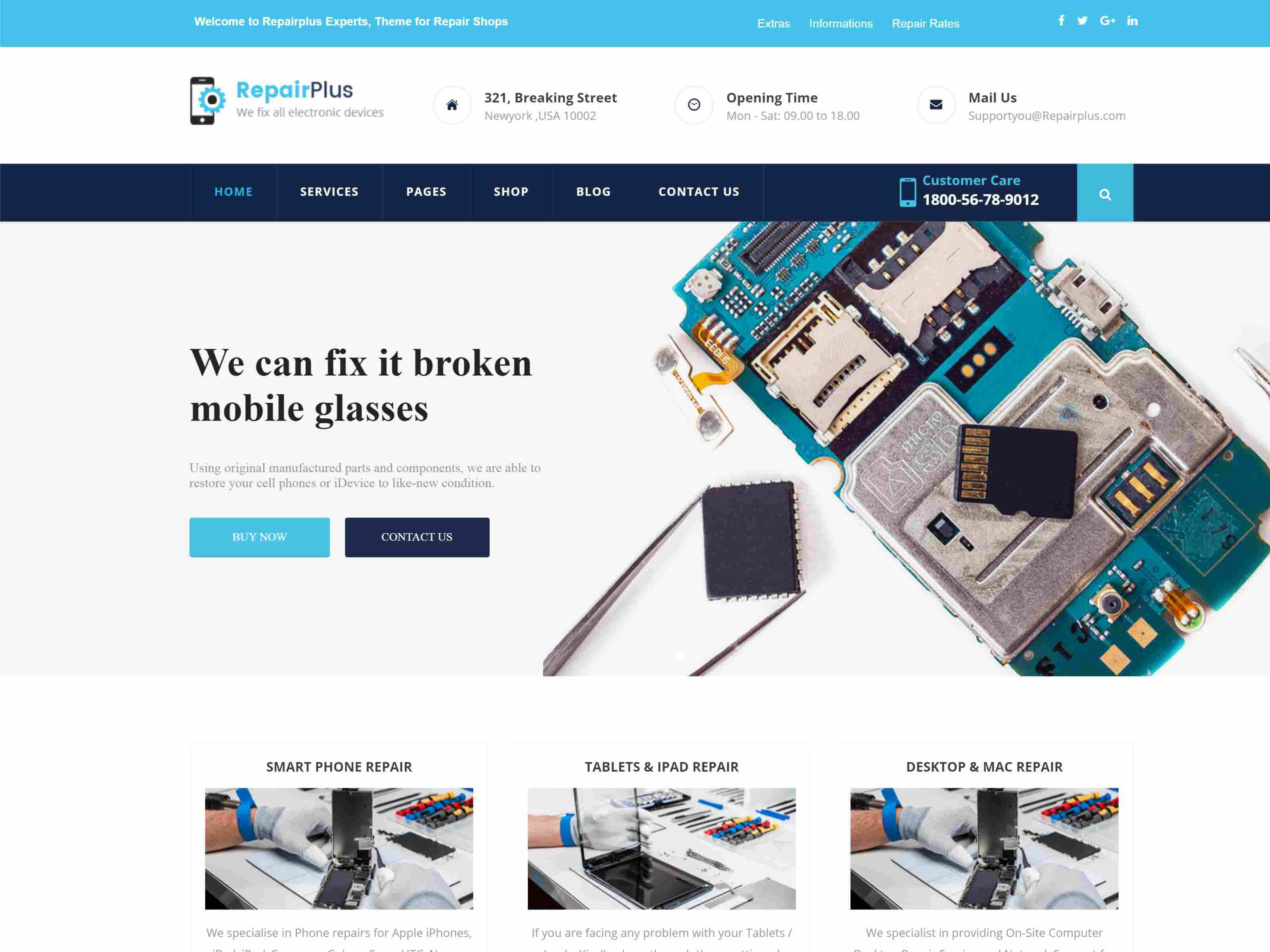 Best Premium Repair Joomla Themes