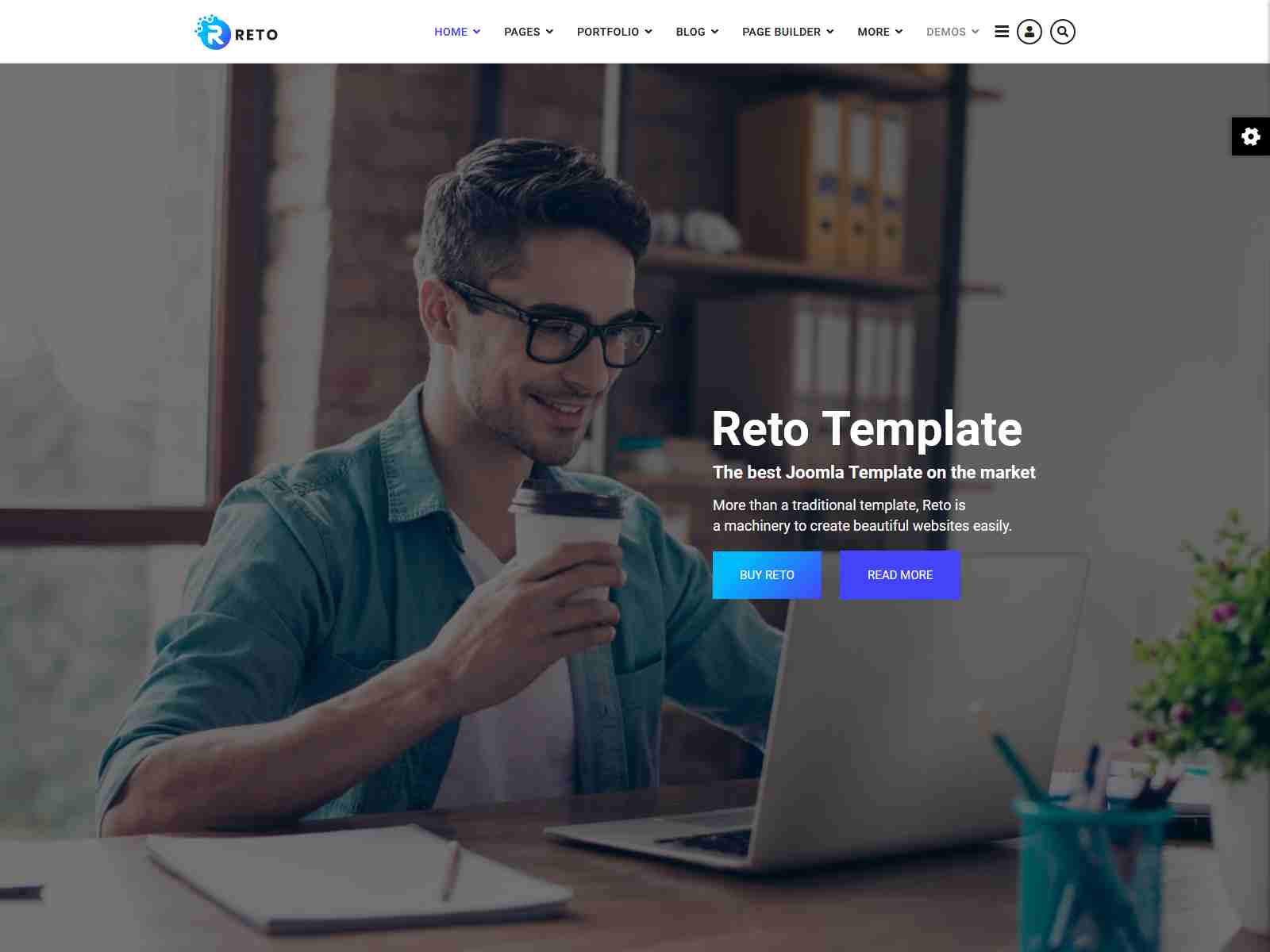 Reto - Responsive Multipurpose Joomla Template With Page Builder