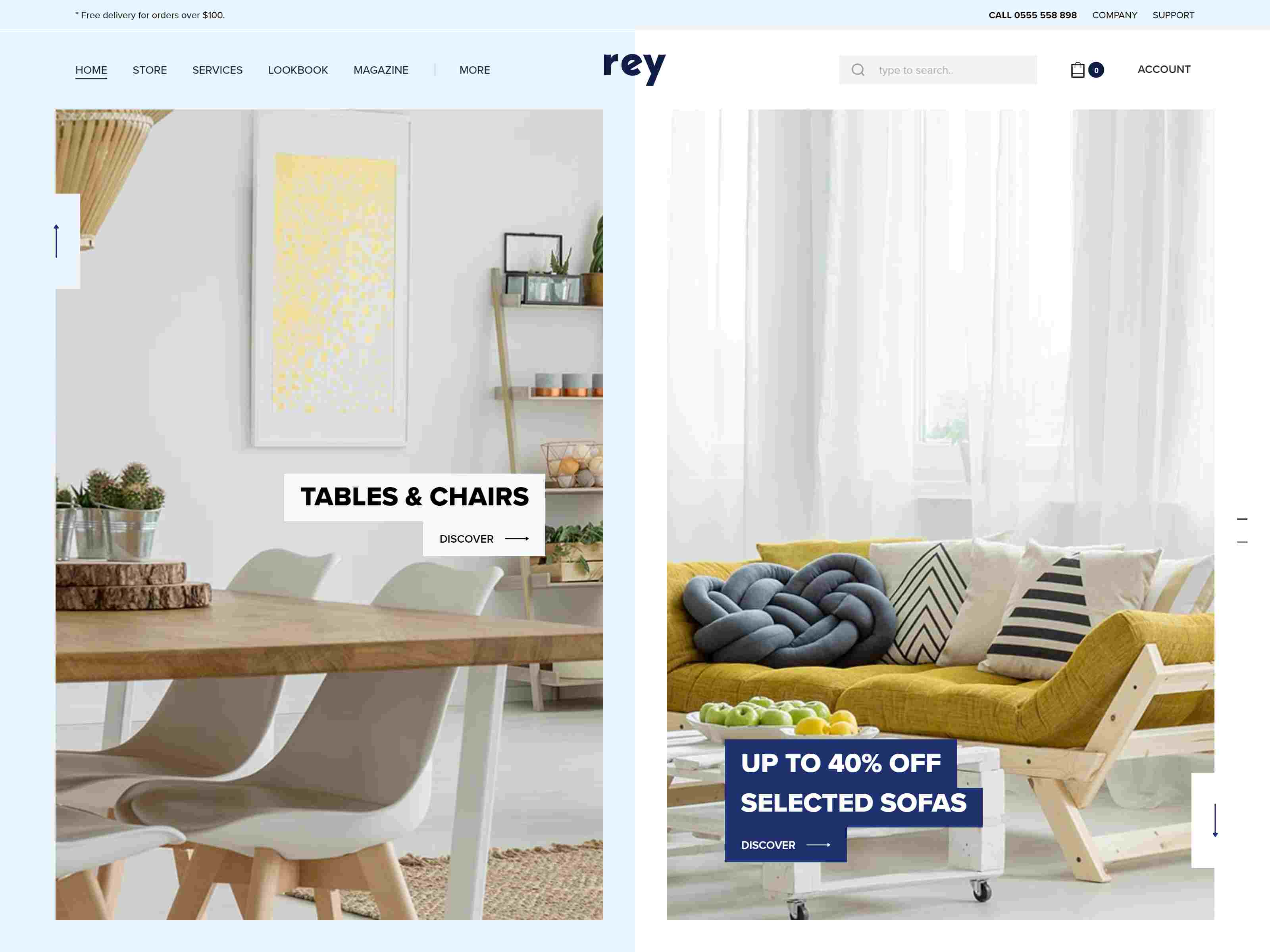 Rey - Fashion & Clothing, Furniture