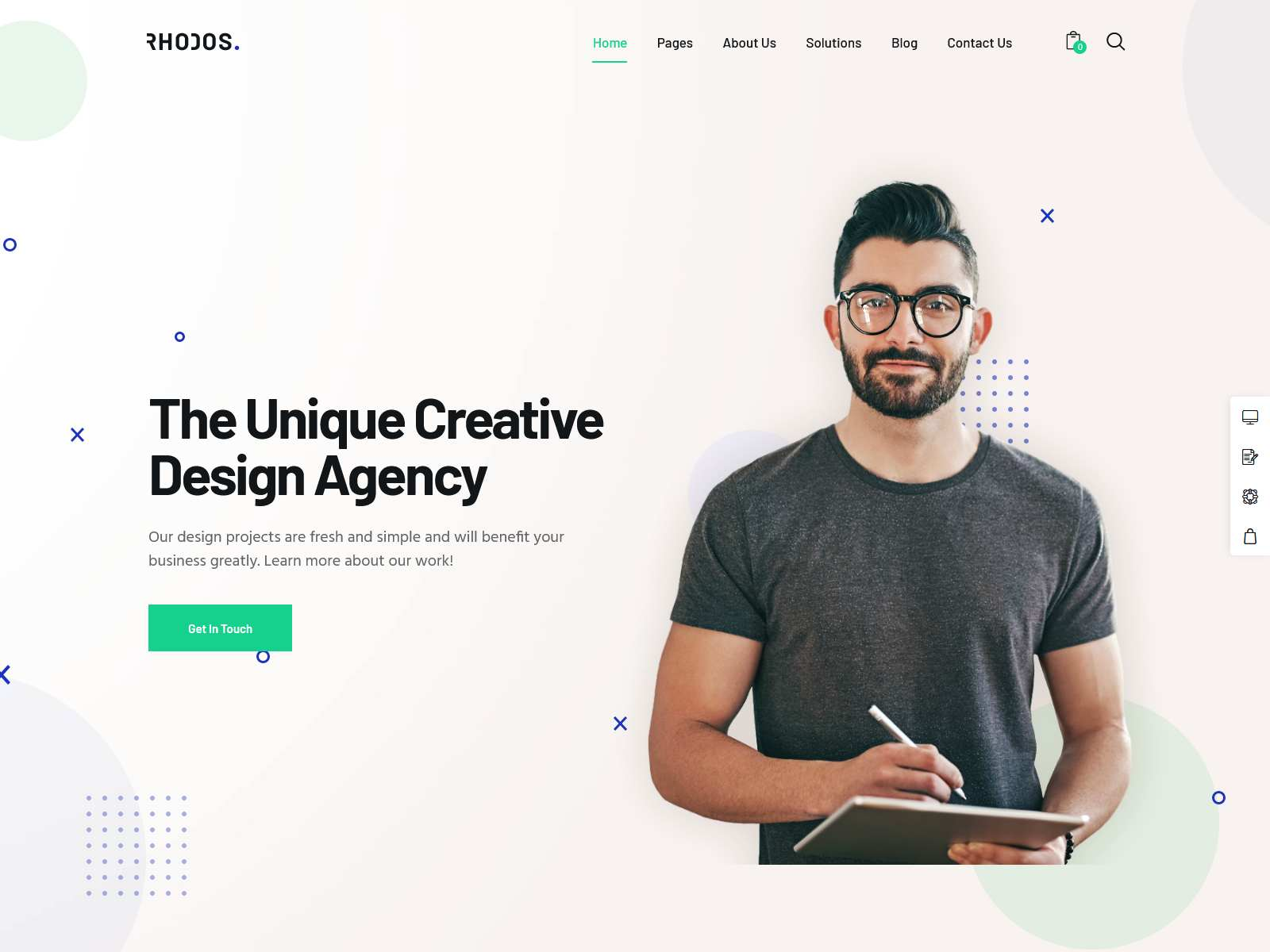 Rhodos - Multipurpose WordPress Theme for Business