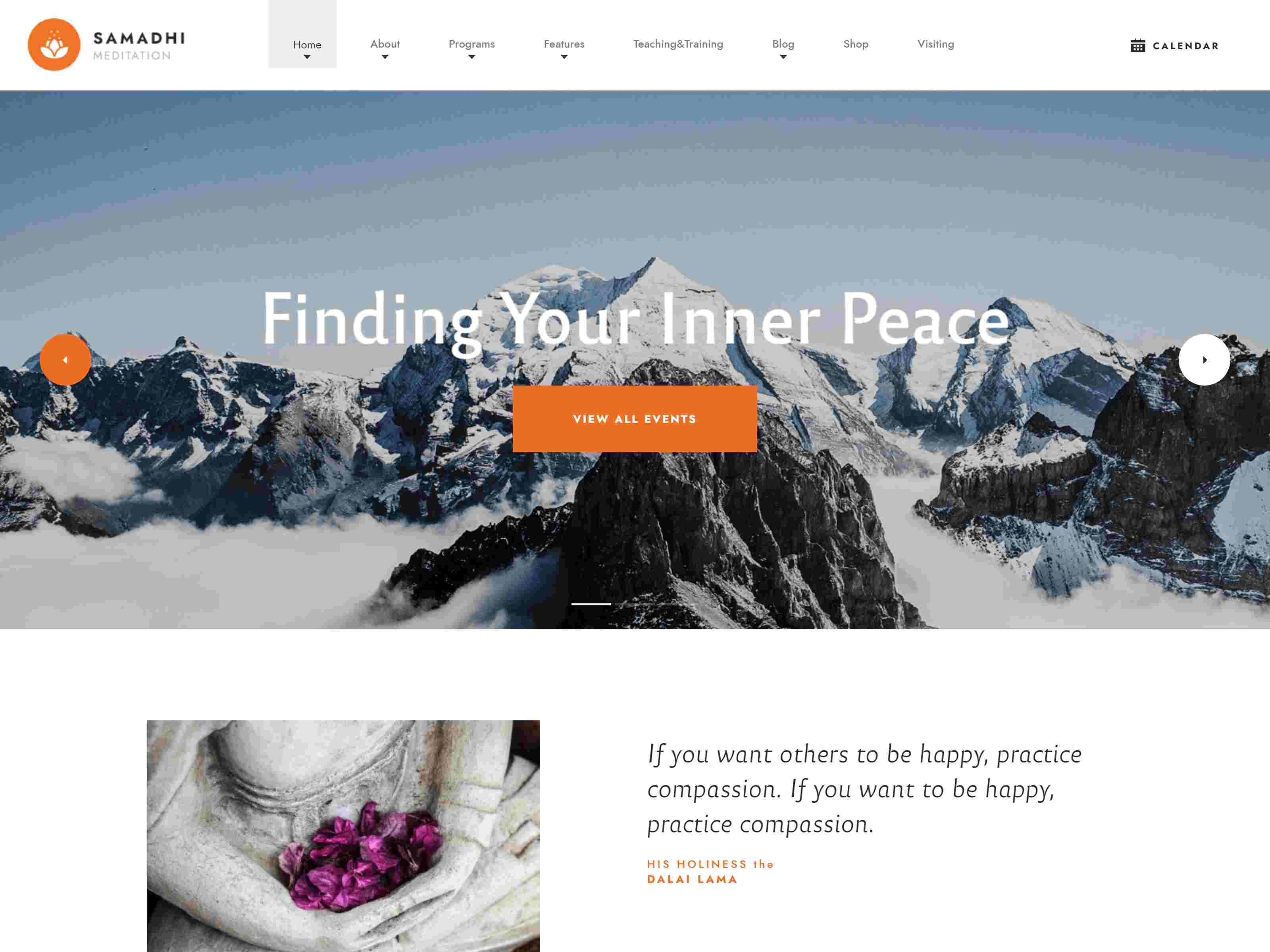 Best Premium Buddhist WordPress Themes