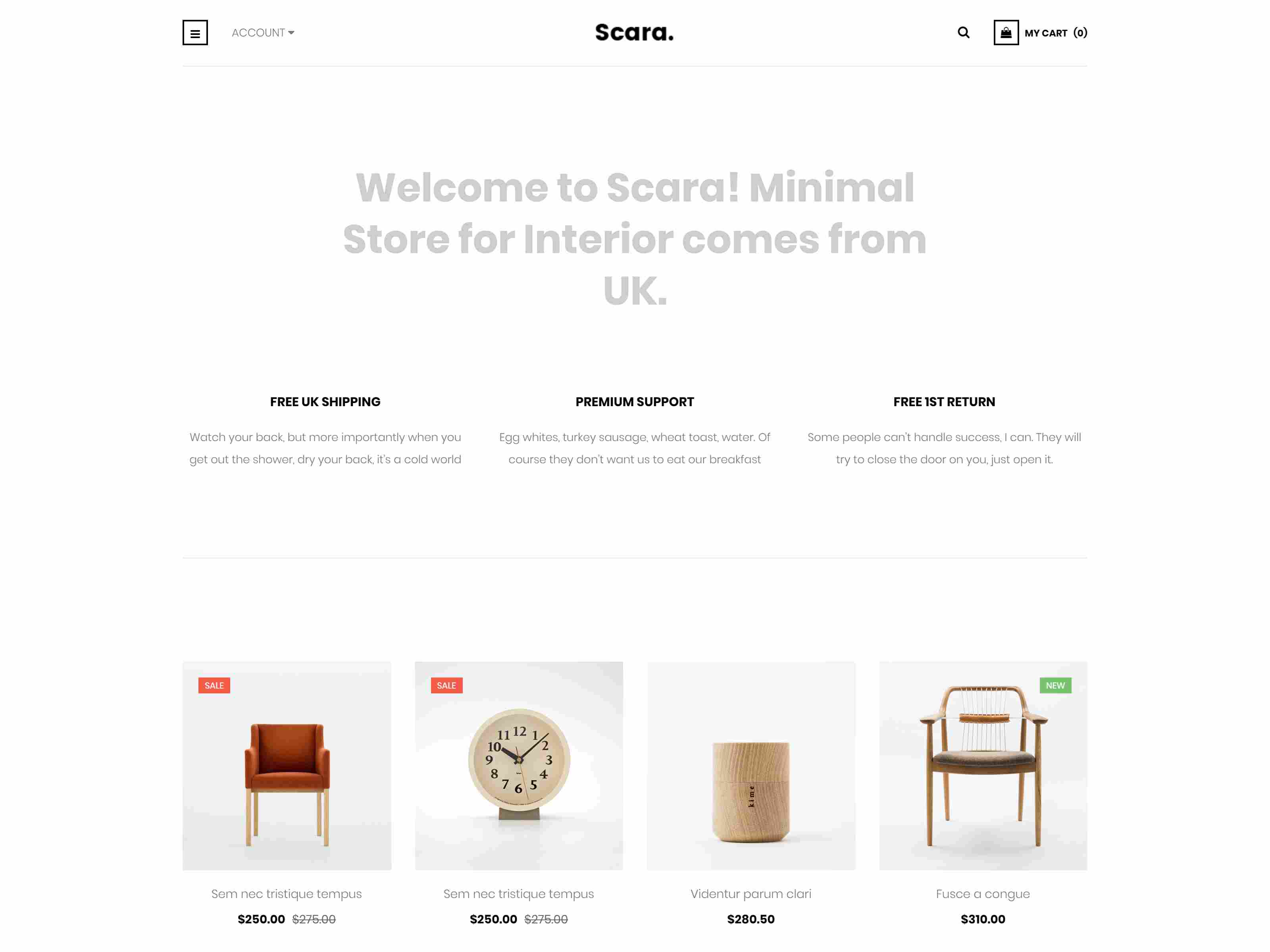 Scara - Multipurpose Virtuemart Template for Online Store