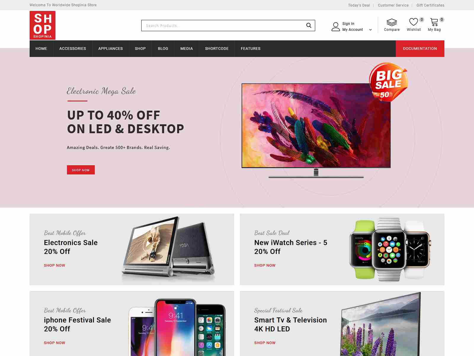 Best Premium Shop WordPress Themes