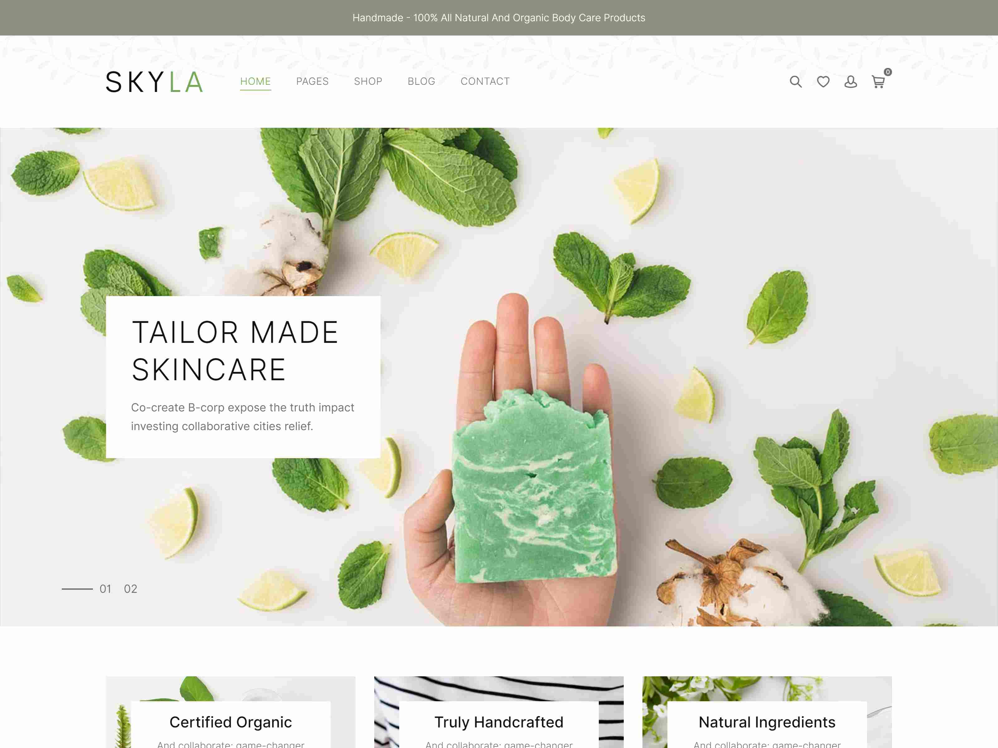 Best Premium Cosmetic, Beauty Products WordPress Themes