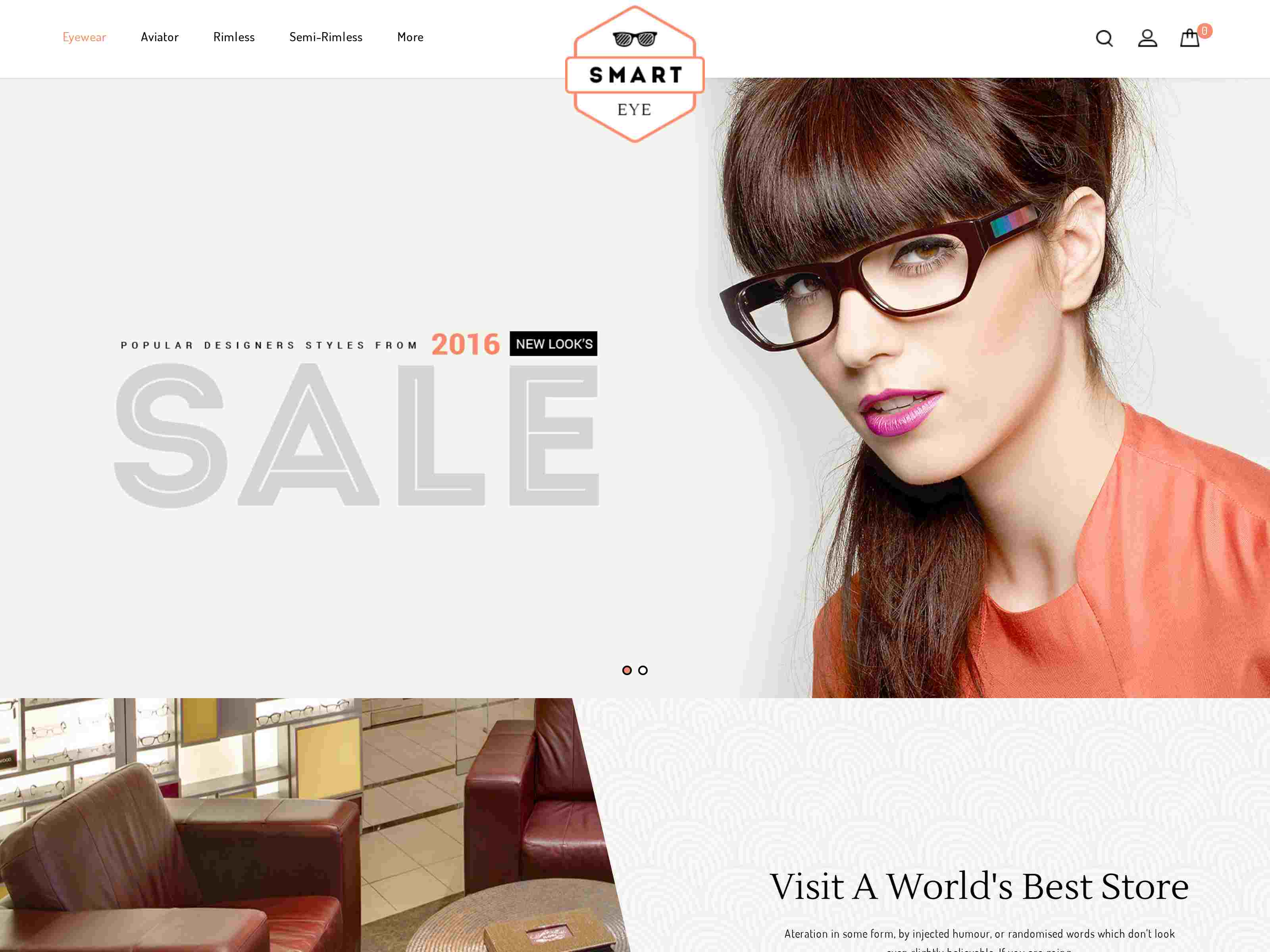 Smart Eye - Responsive Prestashop 1.7 Theme
