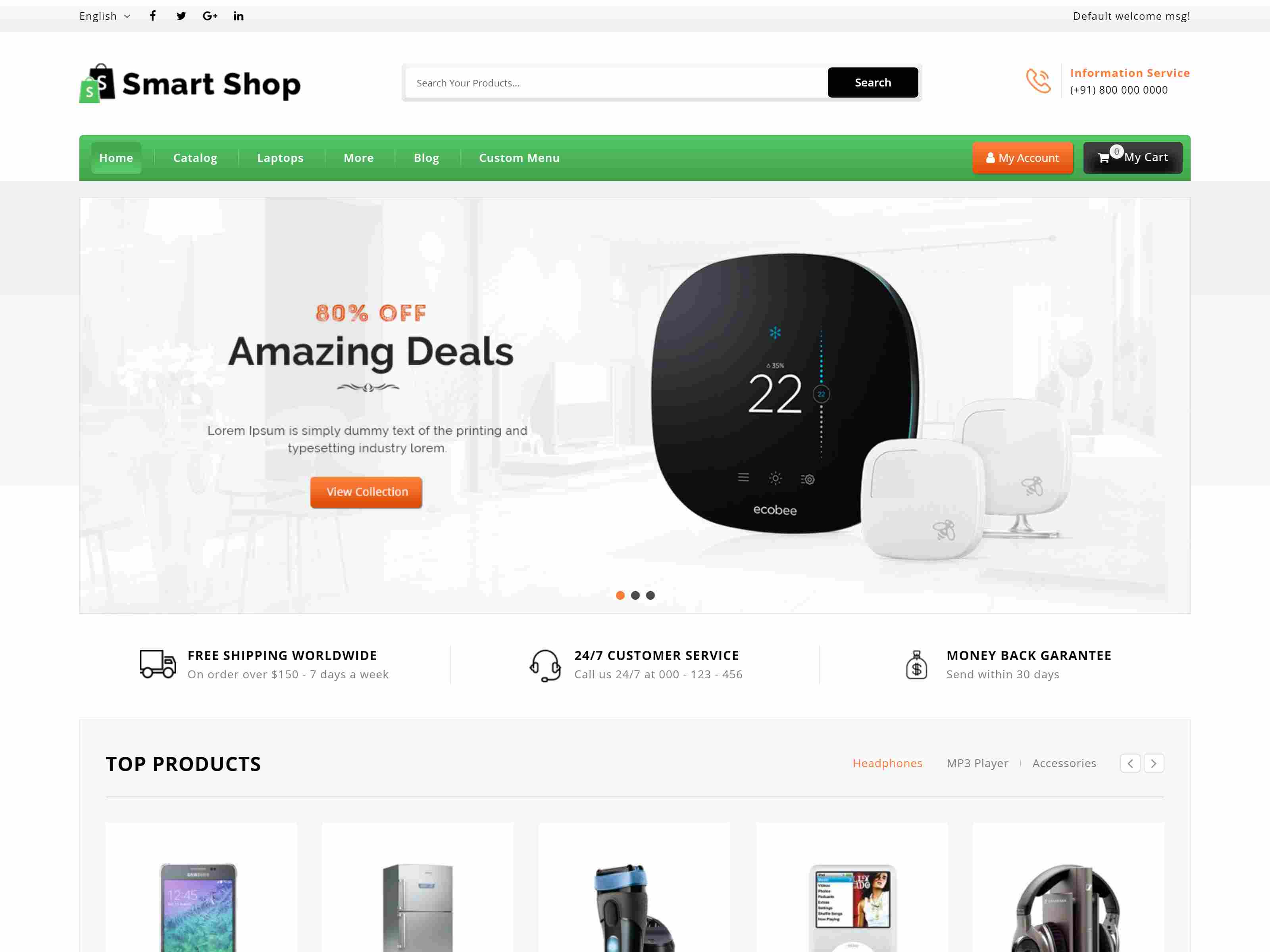 Best Premium Electrician Magento Themes