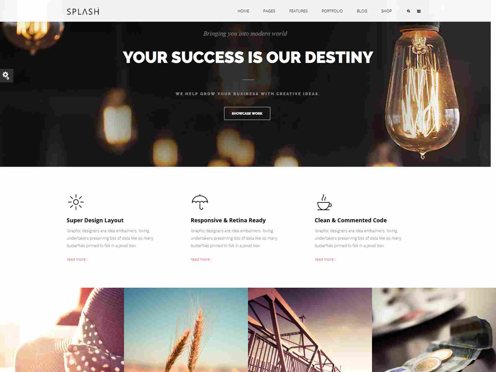 Splash - Multi-Purpose Bootstrap Drupal 8.8 Theme