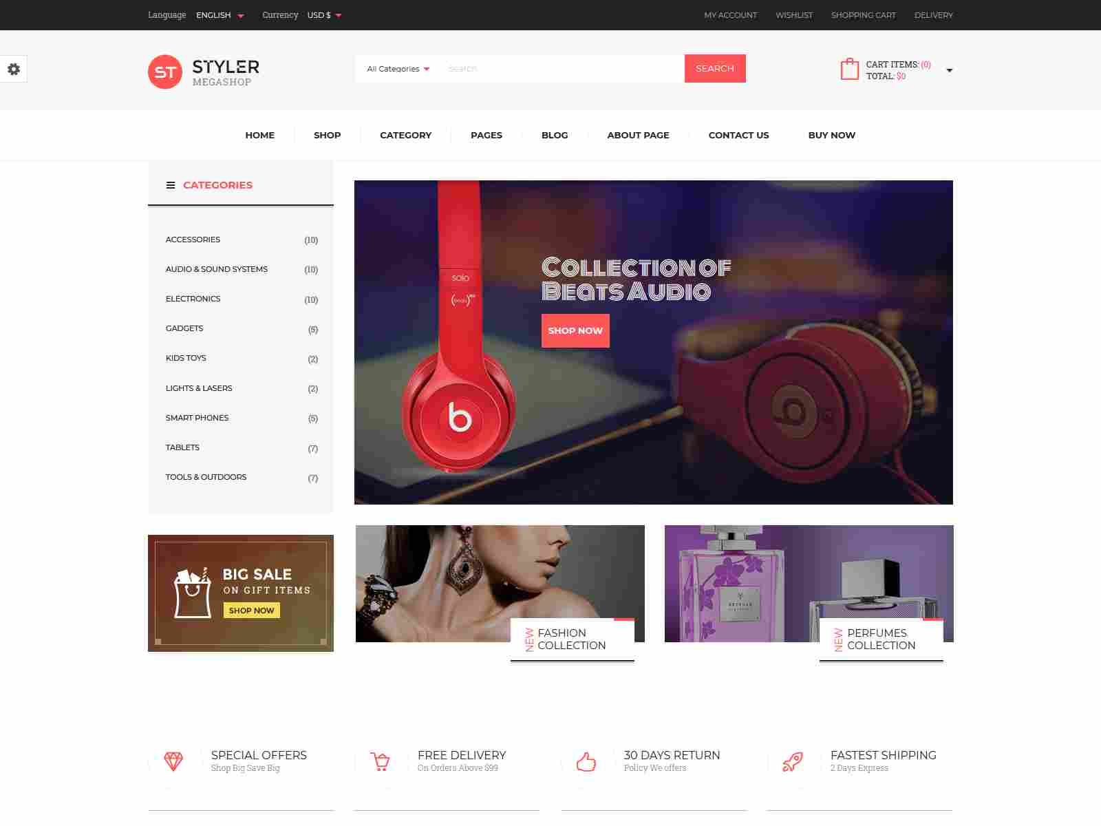 Best Premium VirtueMart Joomla Themes for Electronic Shop, Gadgets Shop