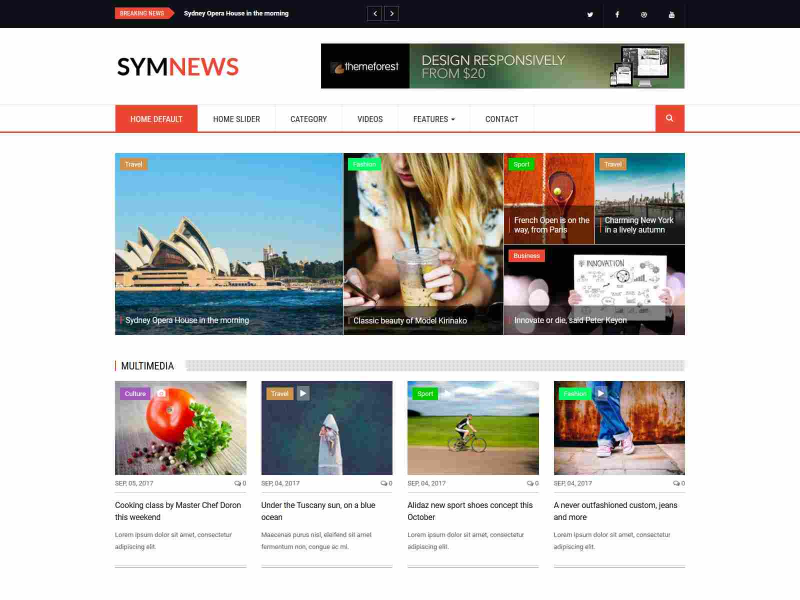 Best Premium News, Magazine Drupal Themes