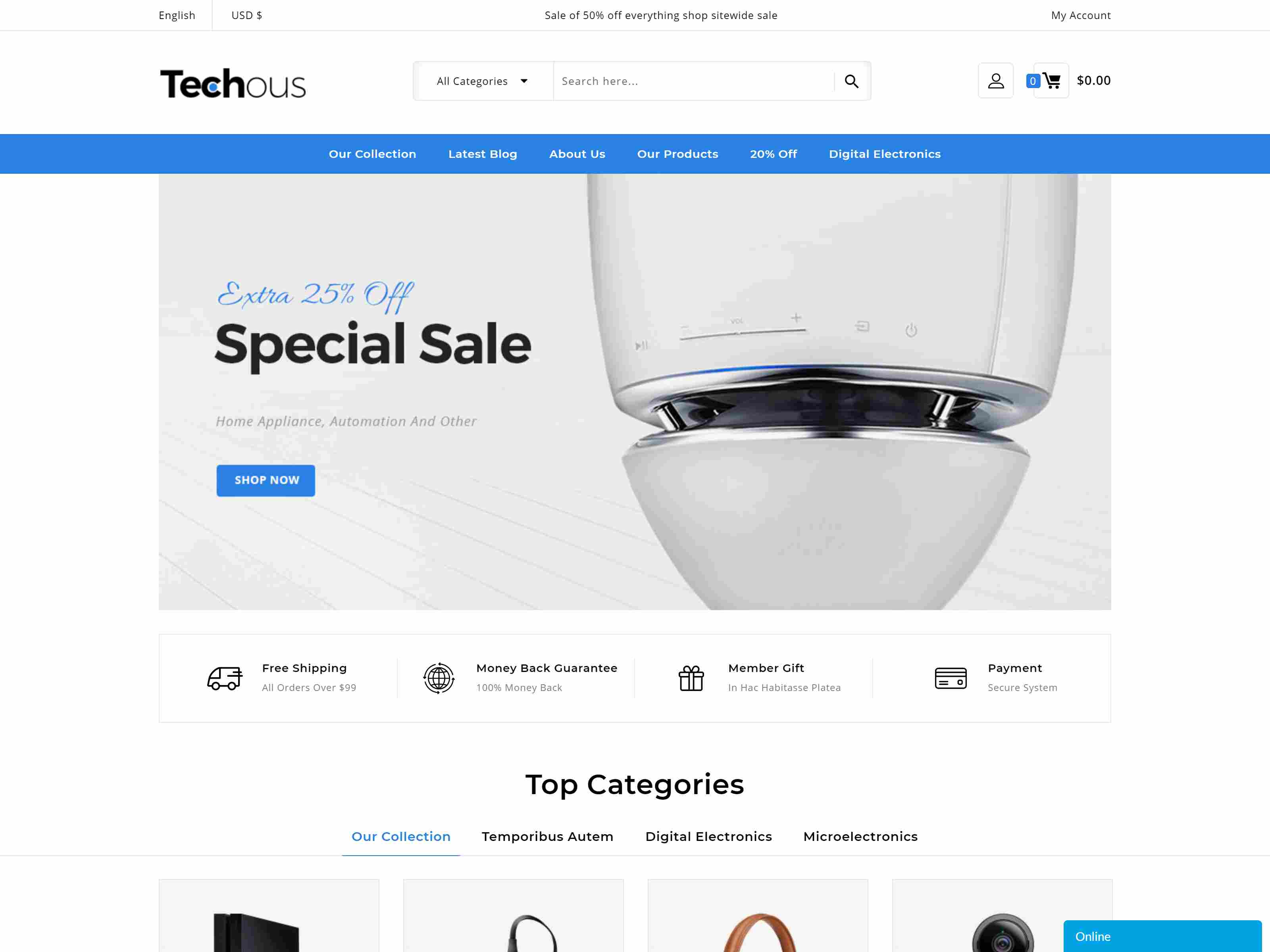 Techouse - Multipurpose Prestashop 1.7 Theme