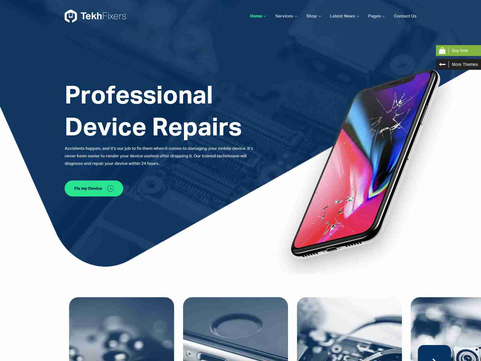 Best Premium Repair WordPress Themes
