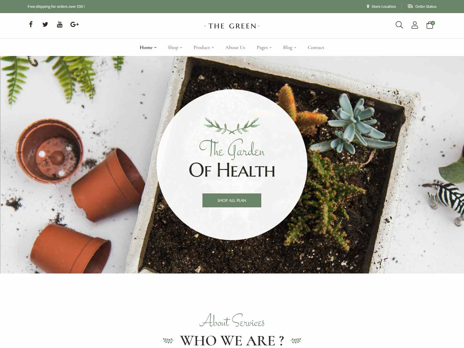 Best Premium Plant WordPress Themes