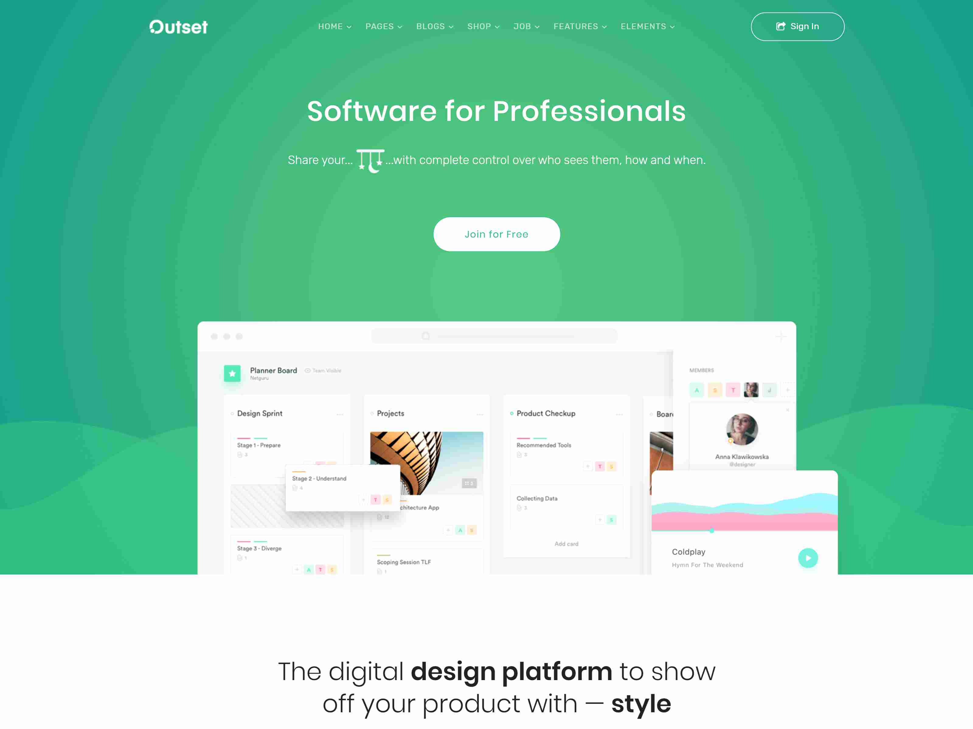 The Outset - MultiPurpose WordPress Theme for Saas & Startup