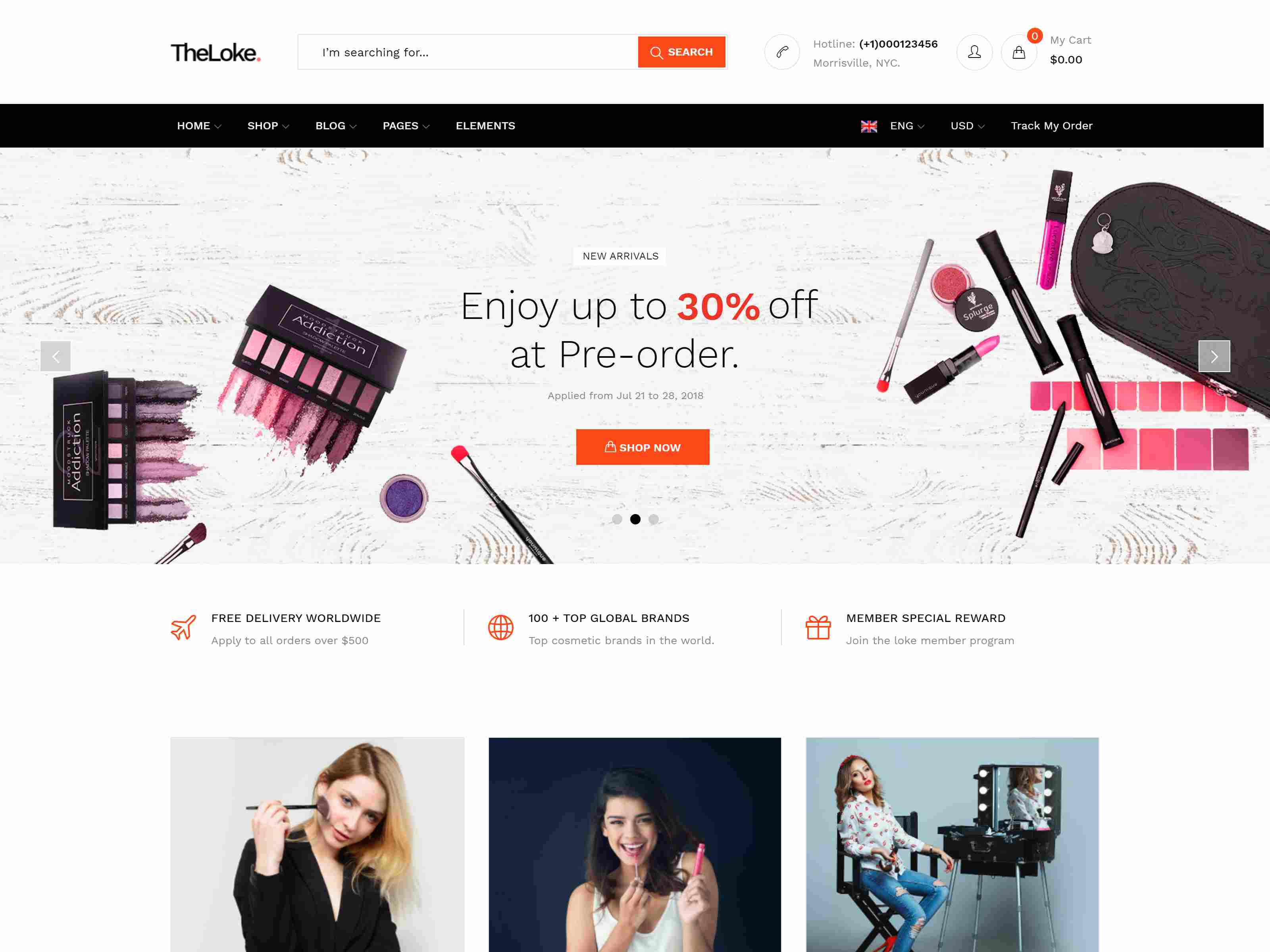 TheLoke - Multi-Purpose & Electronics Store WooCommerce Theme