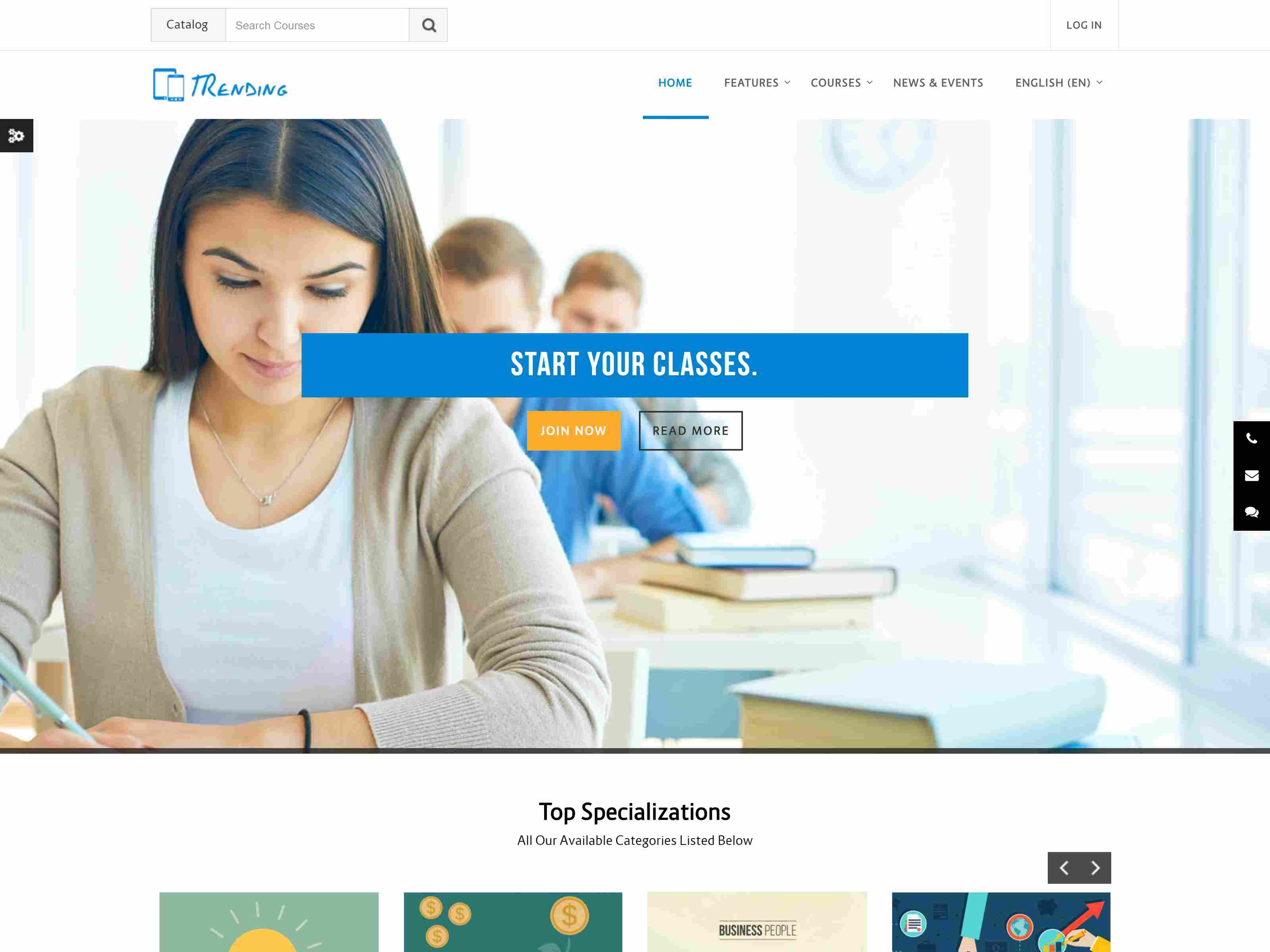 Best Premium School Moodle Themes