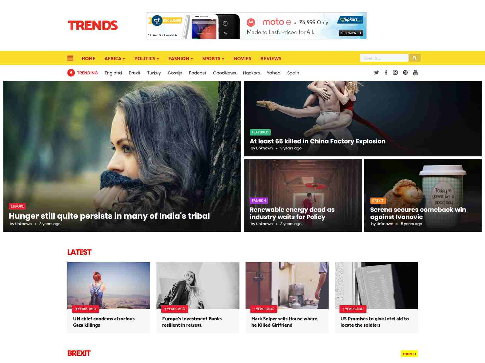Best Premium News Blogger Themes
