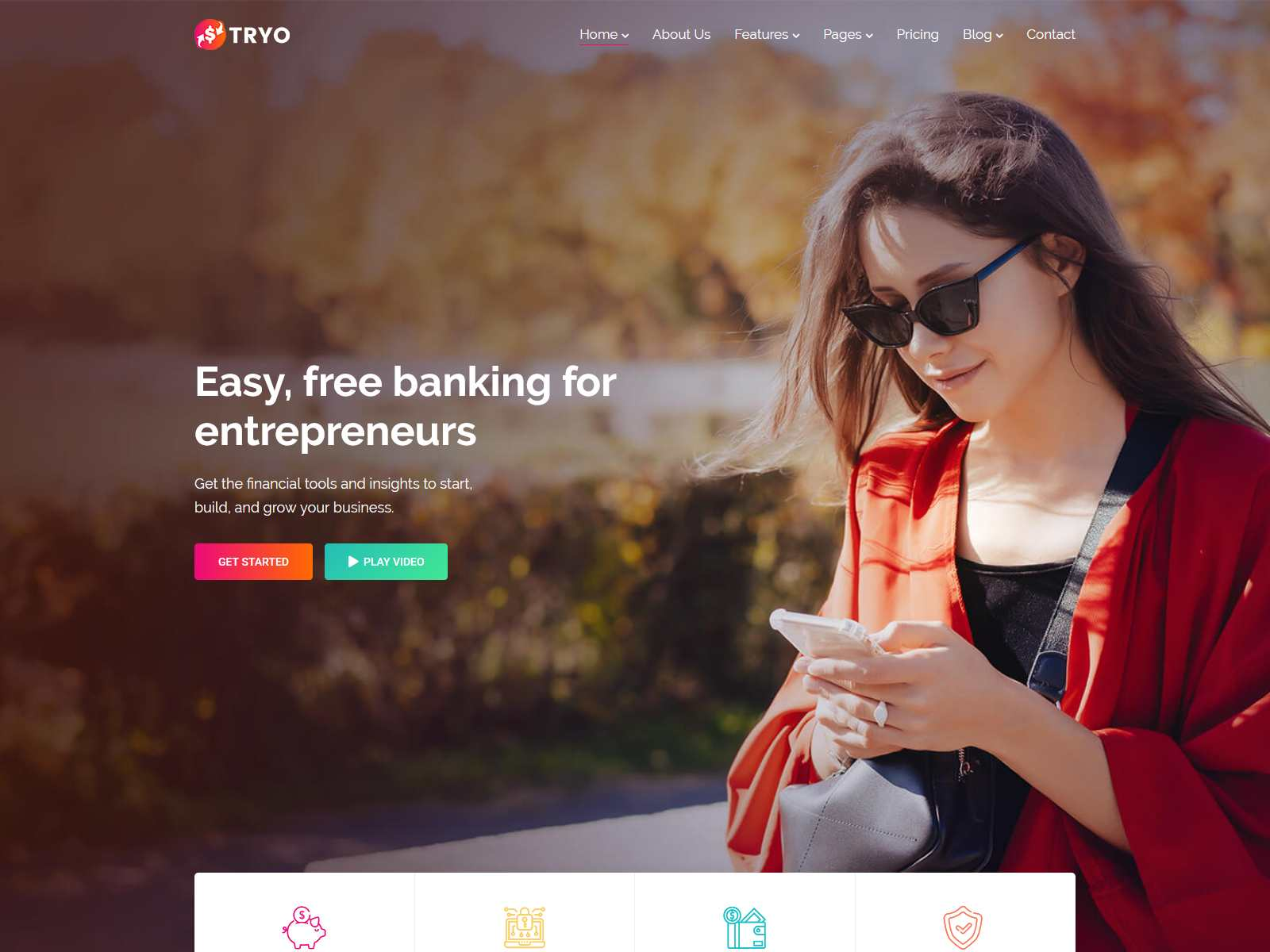 Best Premium Bank WordPress Themes