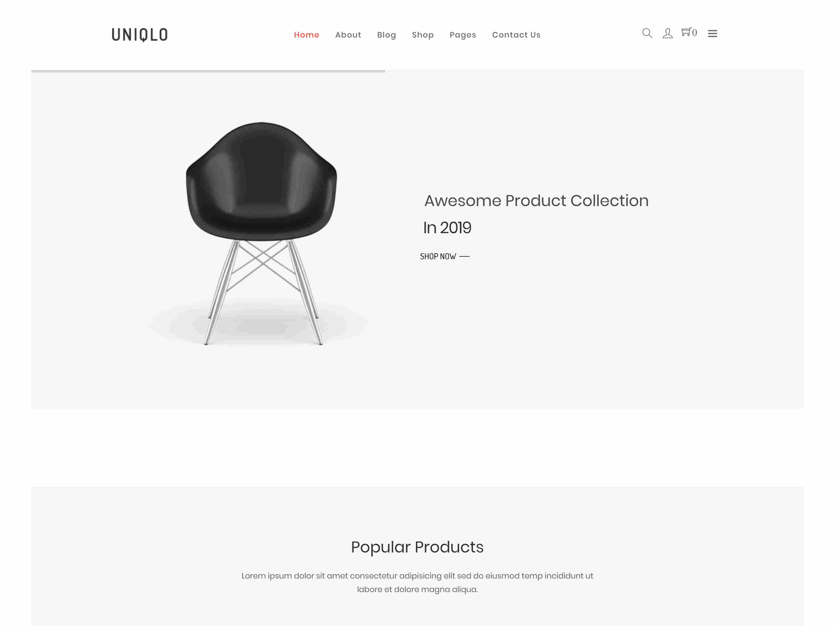 Best Premium Furniture Store Joomla VirtueMart Theme
