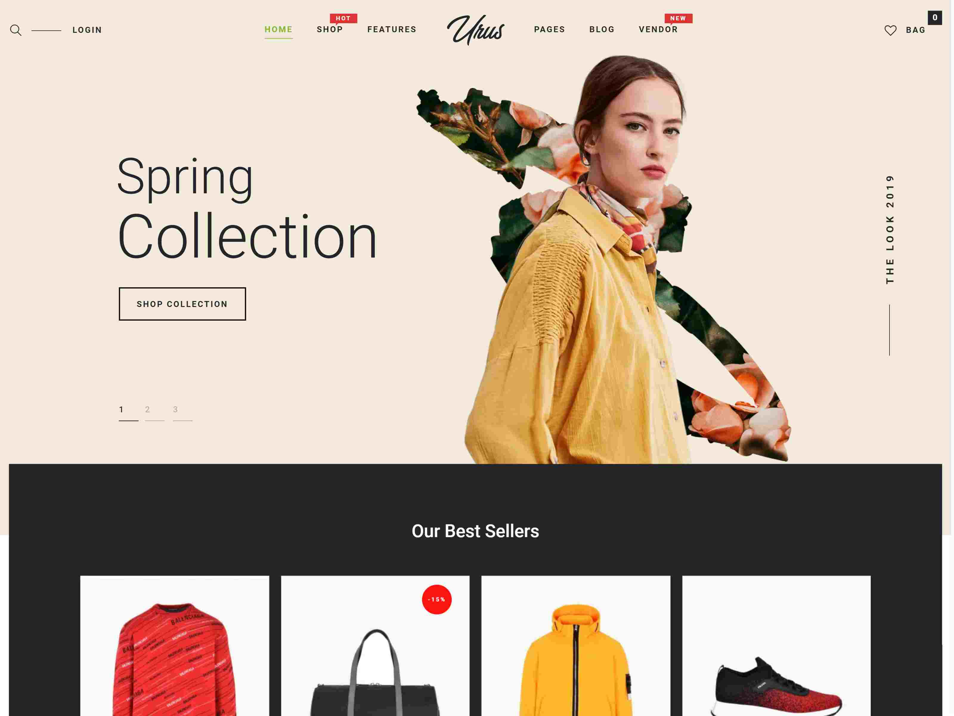 Urus - Multipurpose Responsive WooCommerce Theme