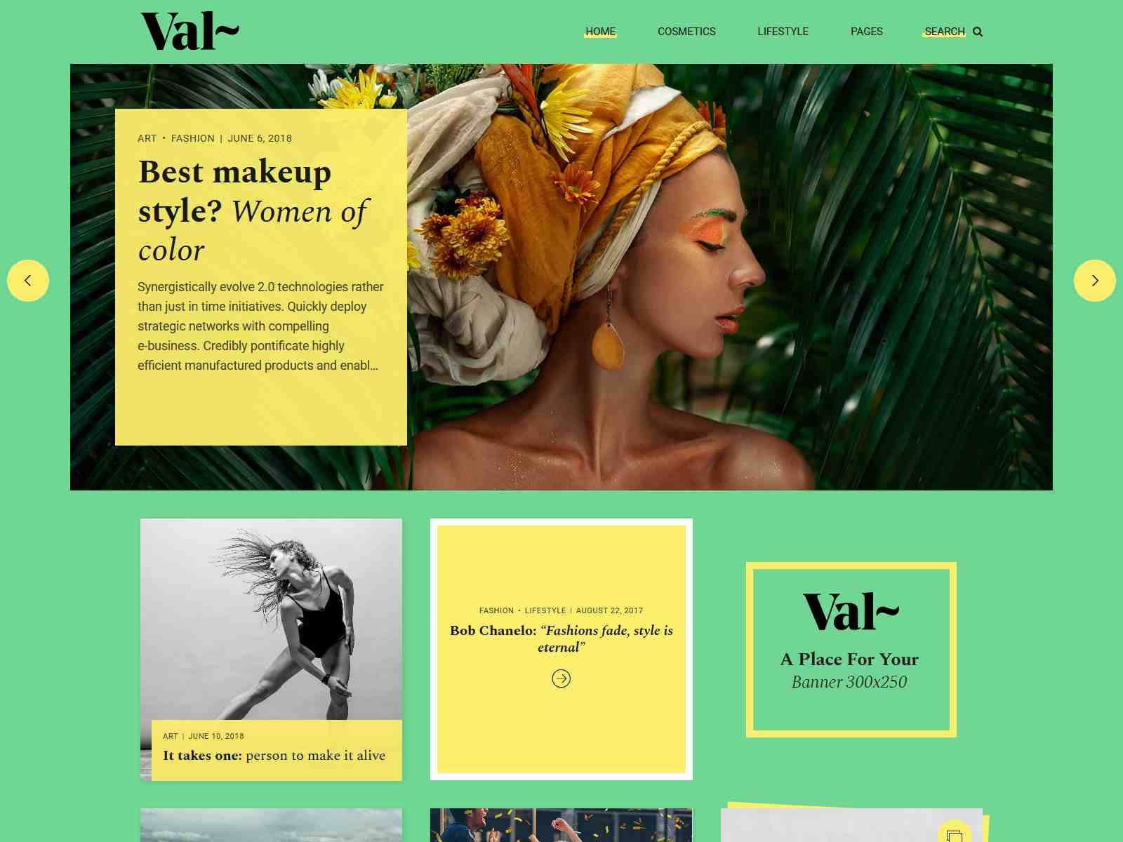 Val – Creative Blog