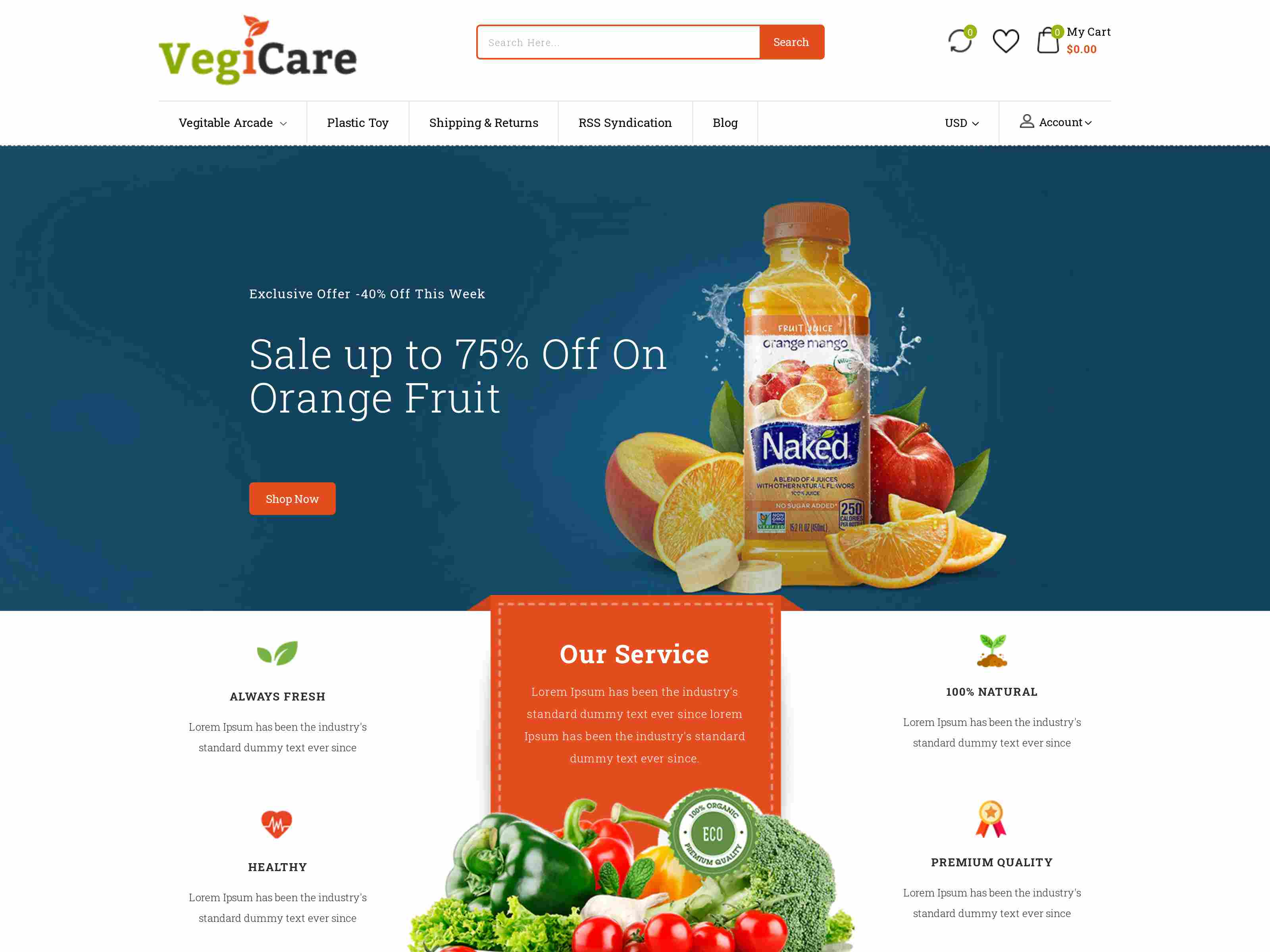 Best Premium Vegetable BigCommerce Themes