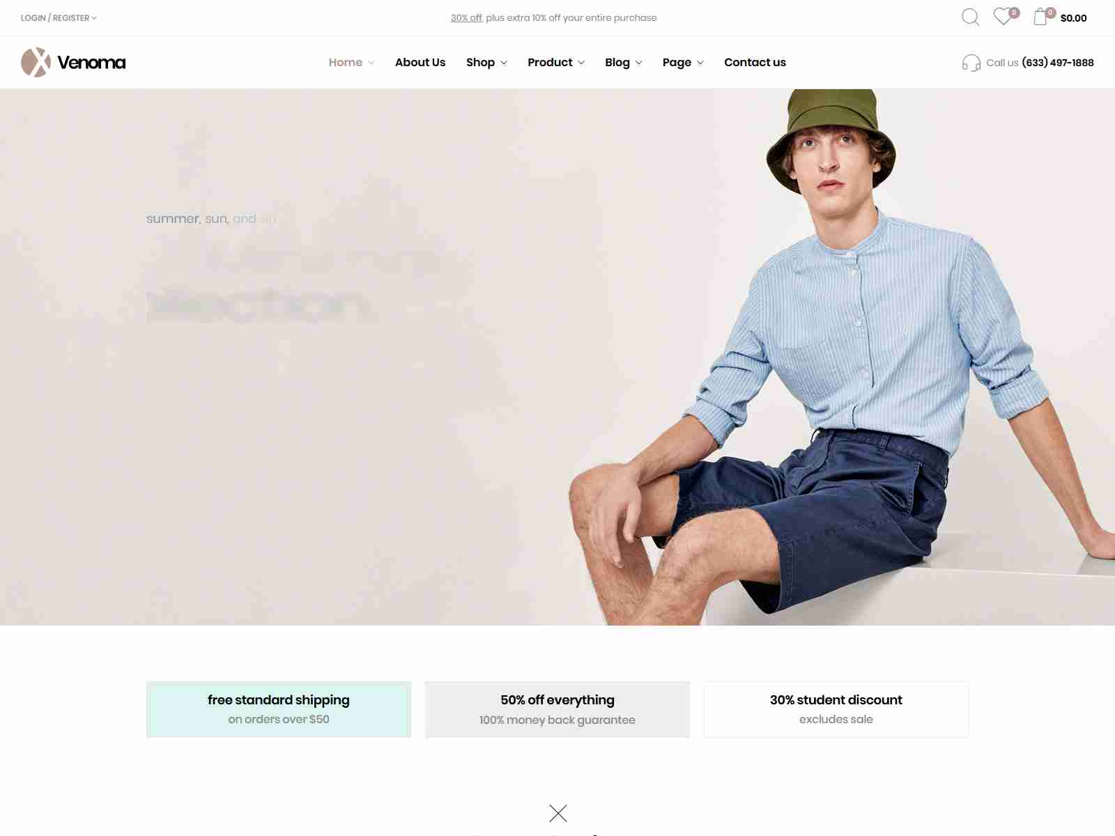 Venoma - Fashion WooCommerce WordPress Theme