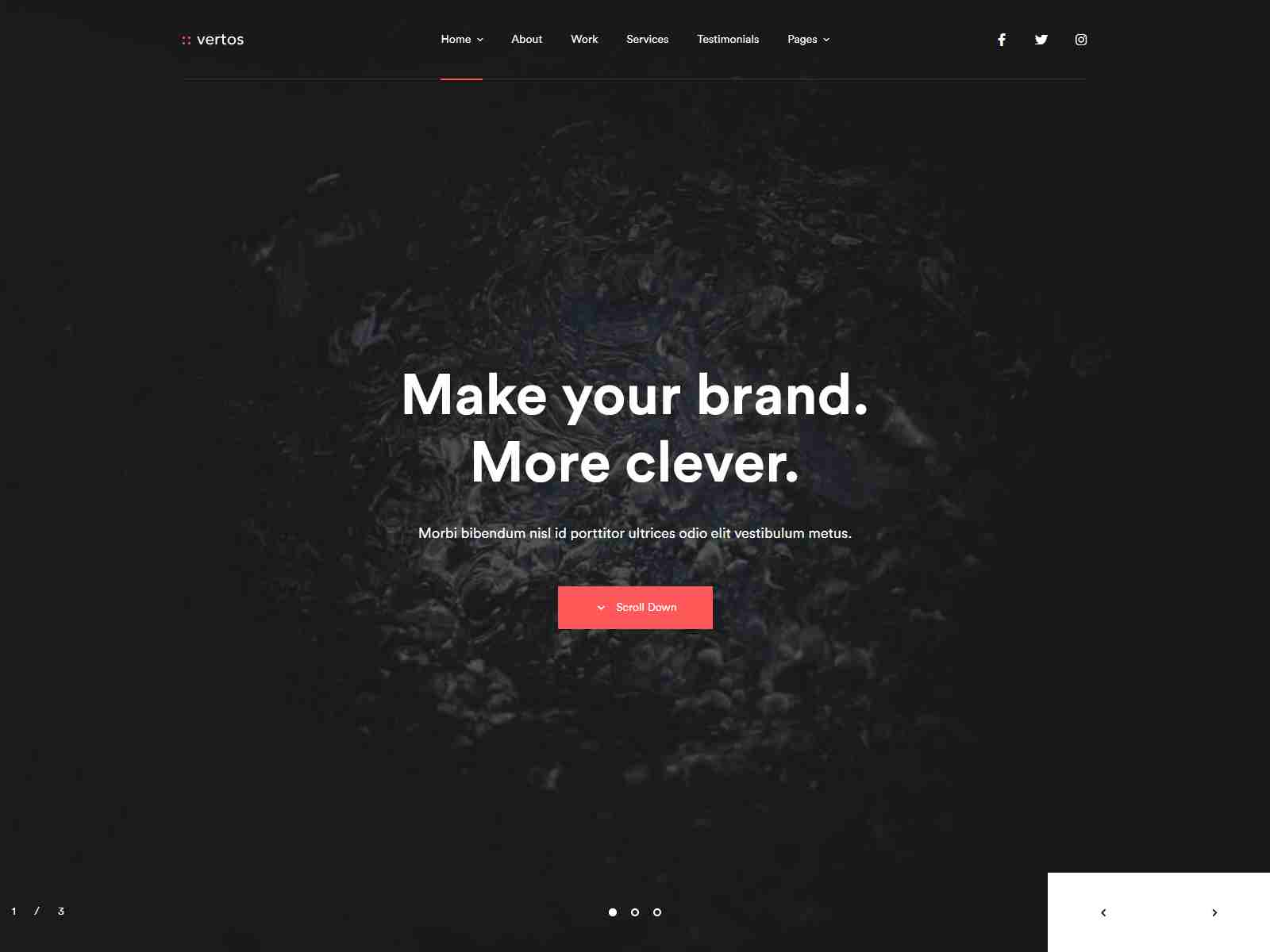 Vertos | Digital & Marketing Agency WordPress Theme