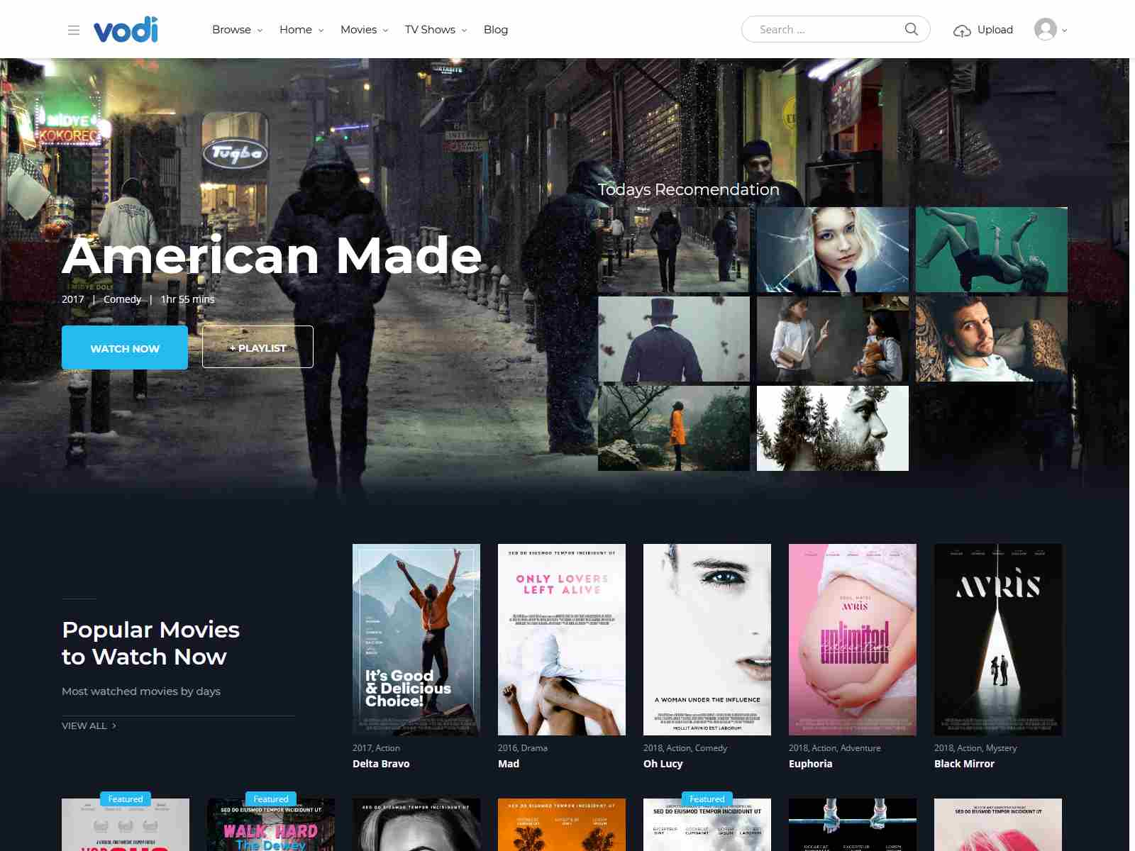 Best Premium Movies WordPress Themes