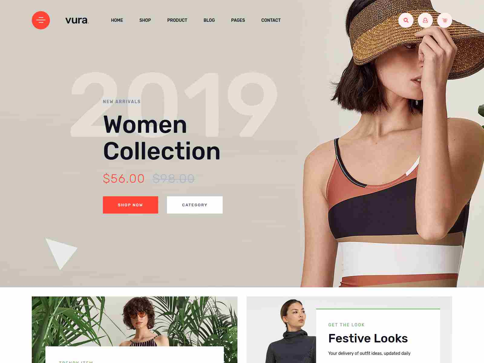 Vura - Clean Minimal WooCommerce WordPress Theme