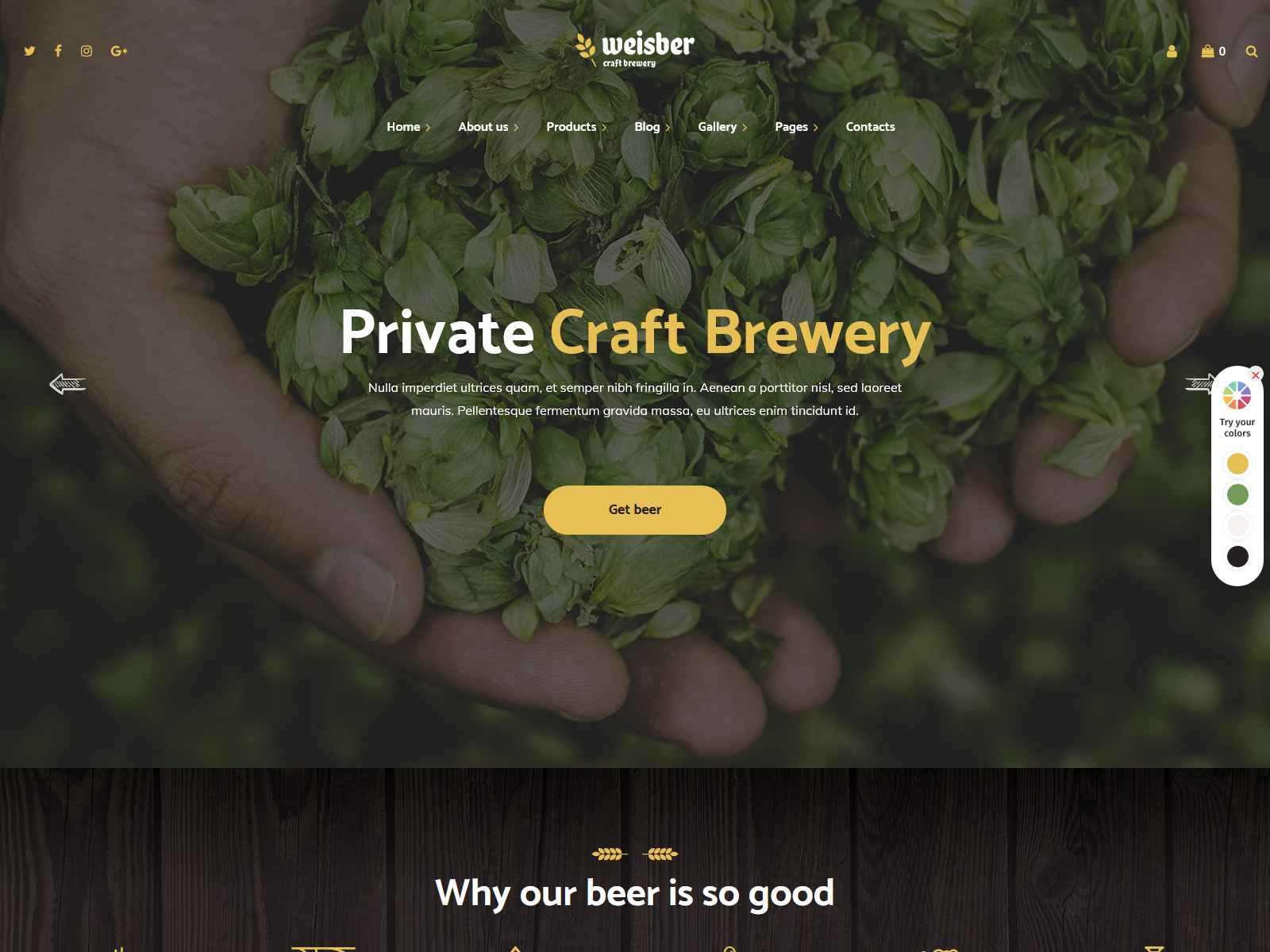 Best Premium Brewery WordPress Themes